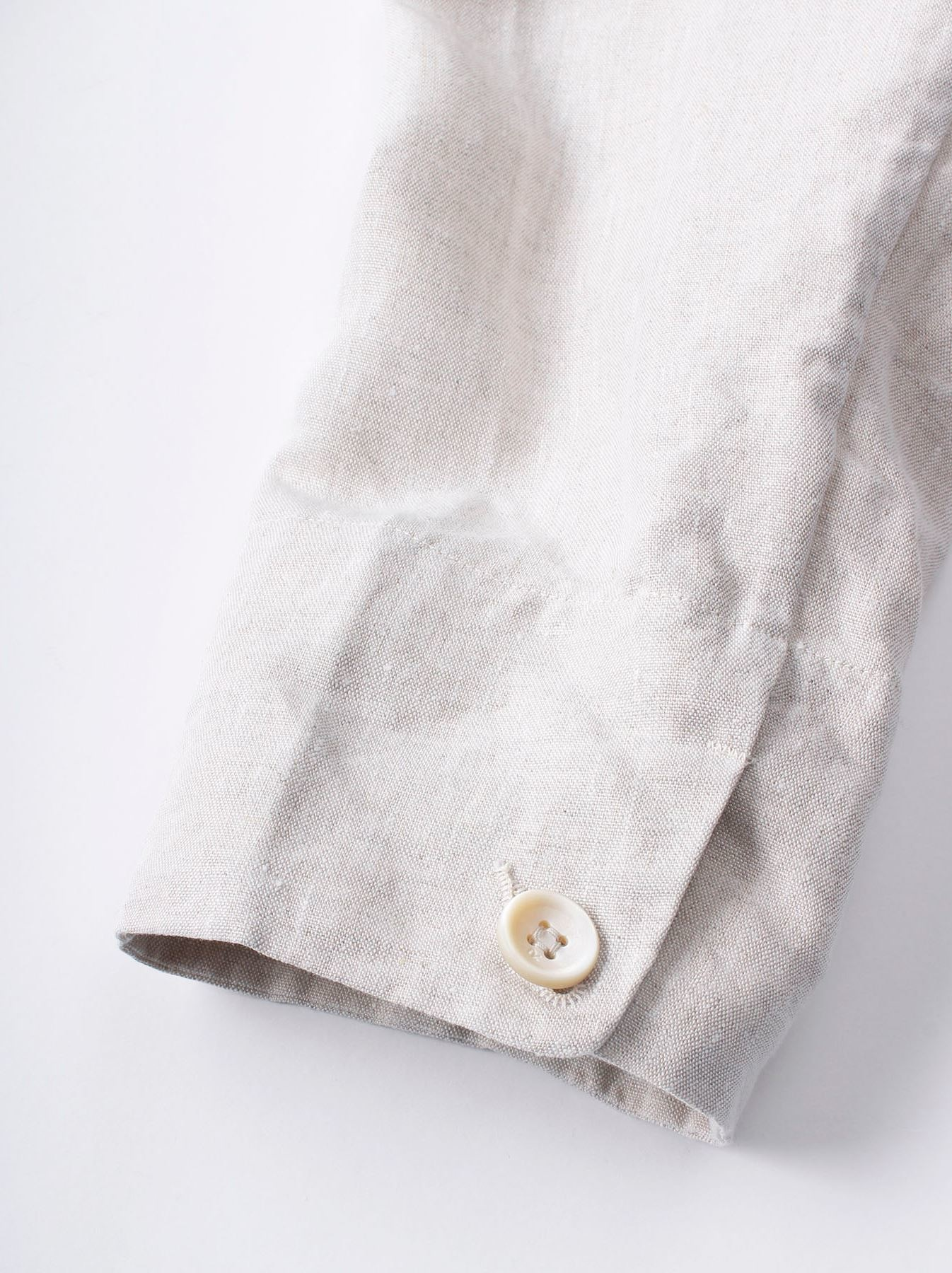 WH Linen Stand Collar Jacket-10