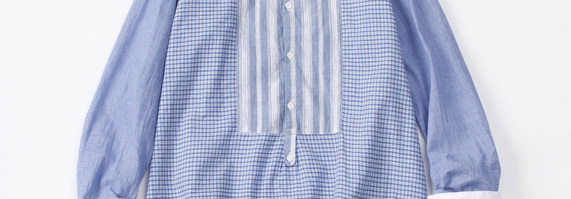 WH Mix Ai-kaze Khadi Pullover Shirt