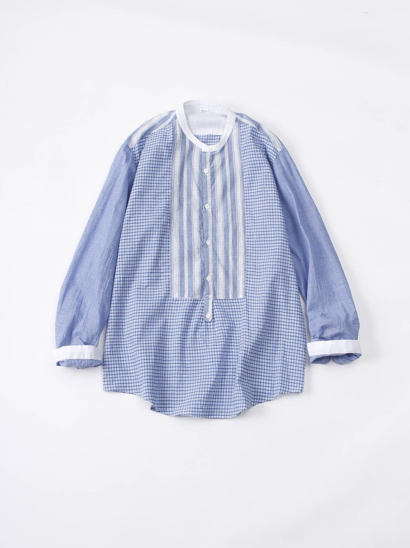 WH Mix Ai-kaze Khadi Pullover Shirt-1