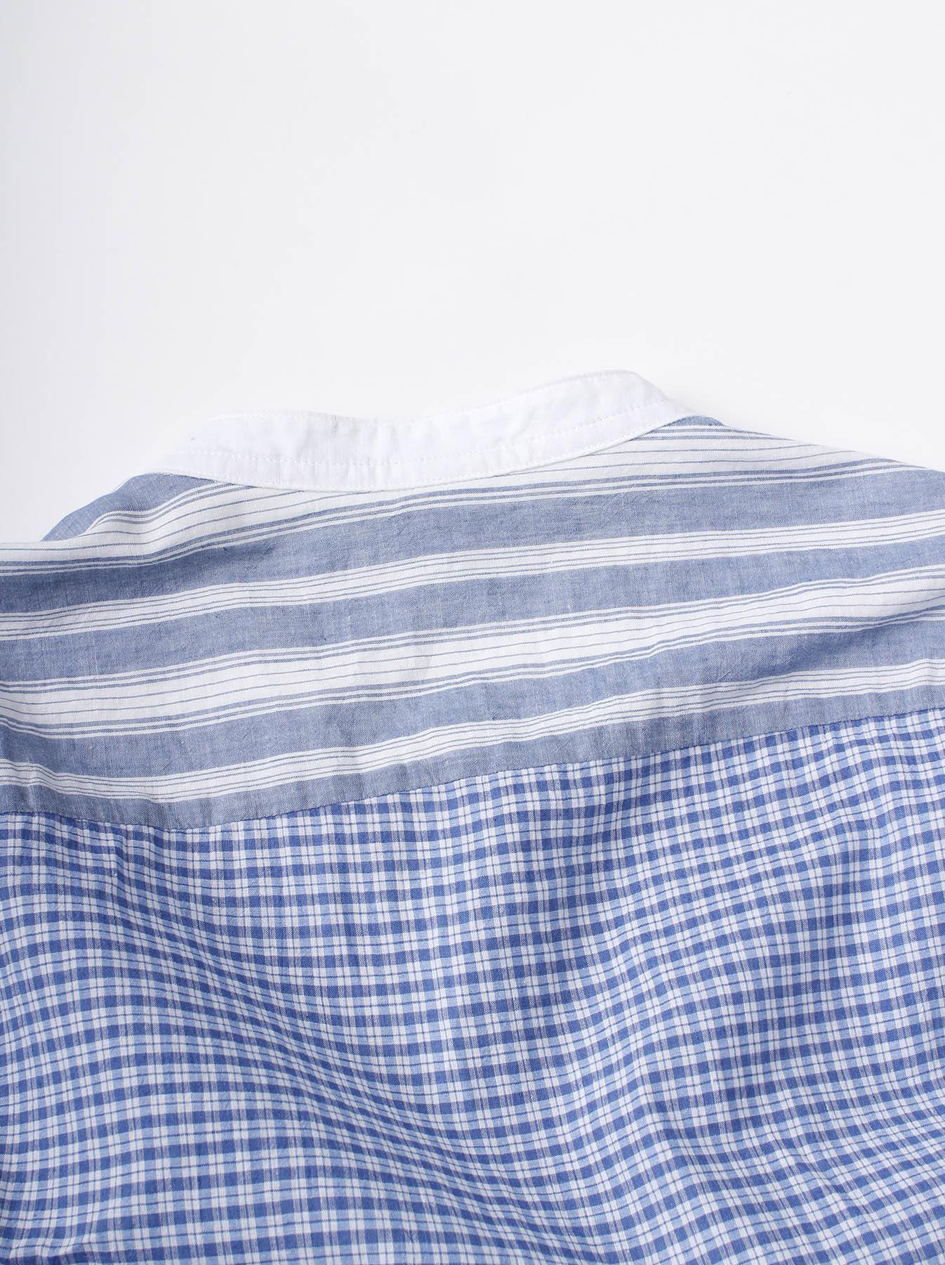 WH Mix Ai-kaze Khadi Pullover Shirt-4