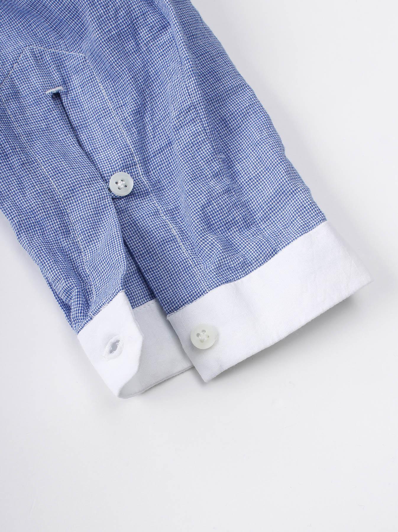 WH Mix Ai-kaze Khadi Pullover Shirt-5