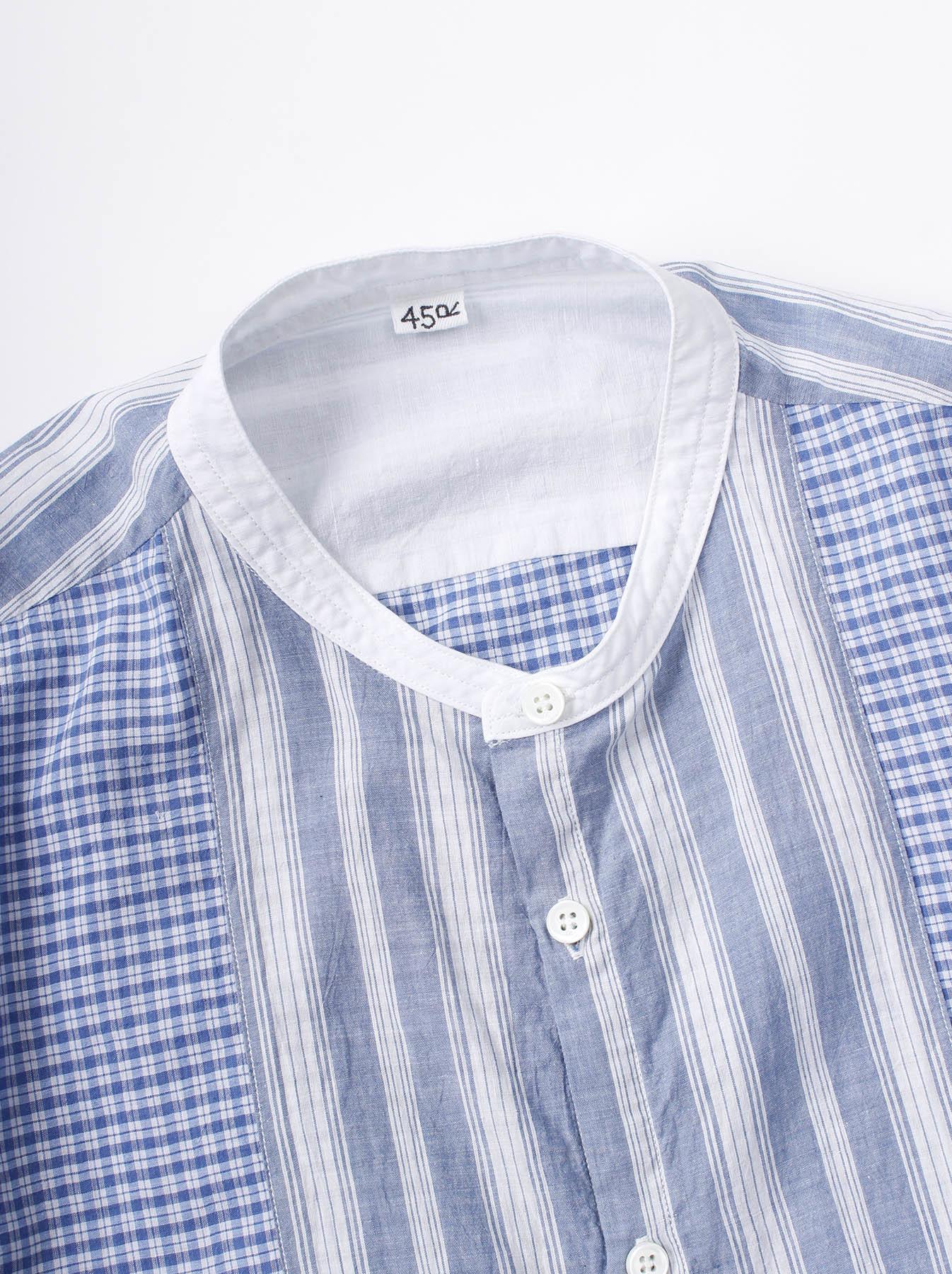 WH Mix Ai-kaze Khadi Pullover Shirt-2