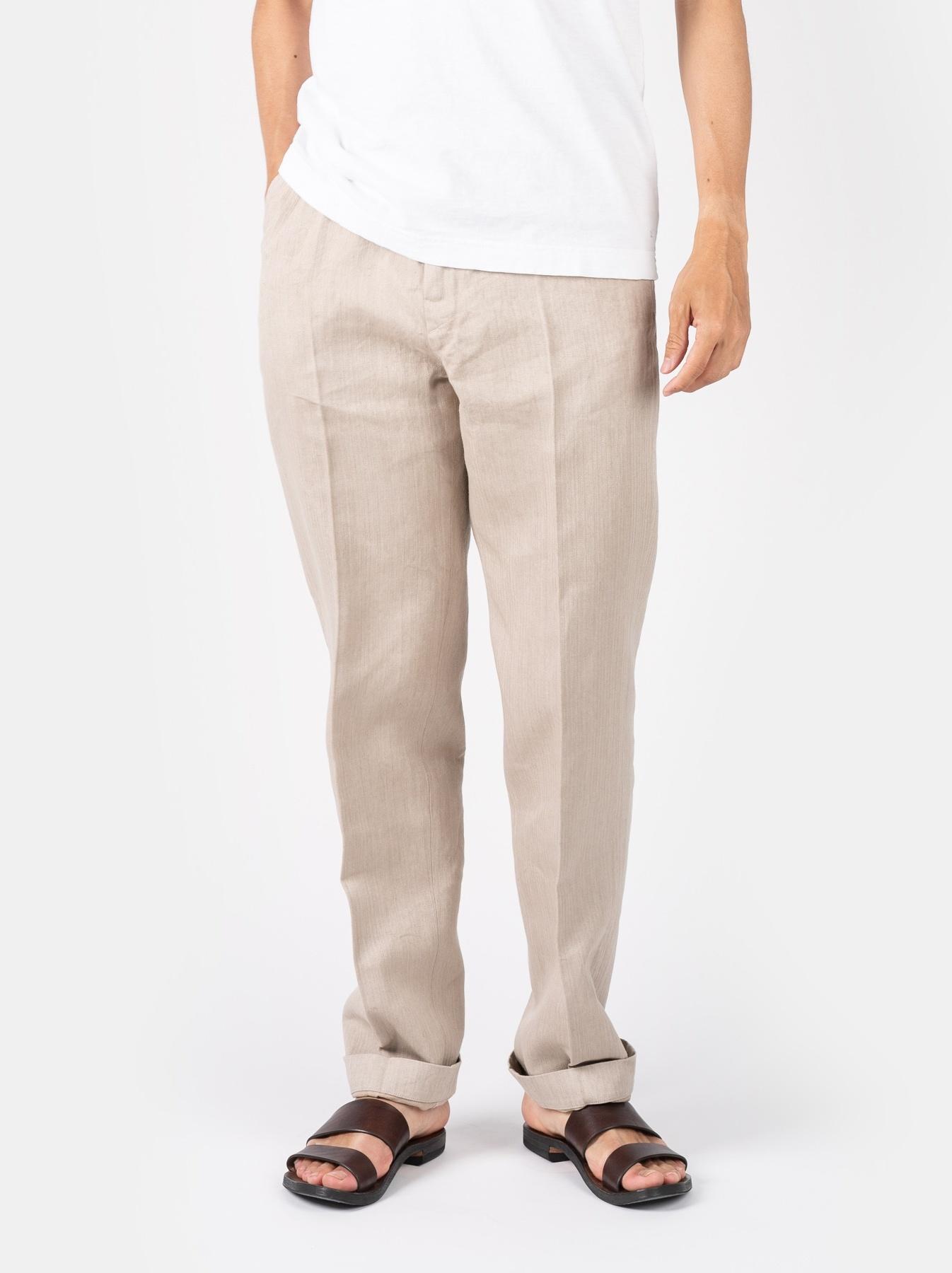 WH Linen Easy Slacks-3
