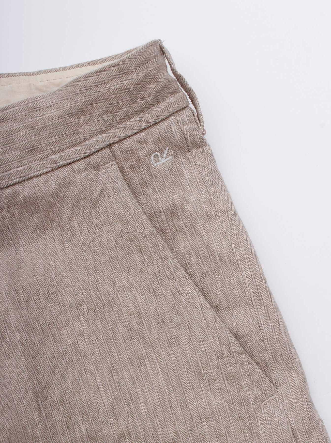 WH Linen Easy Slacks-8