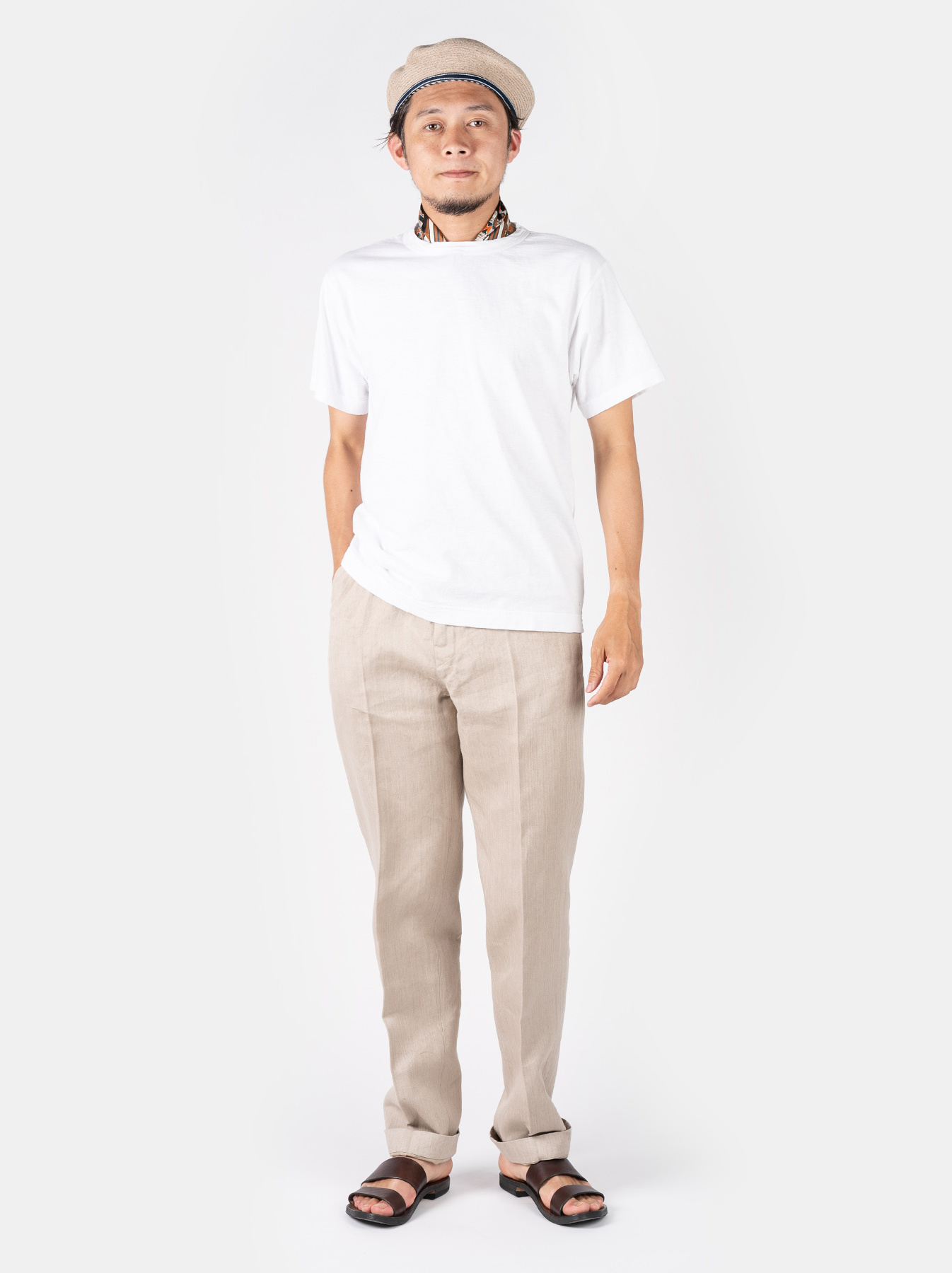 WH Linen Easy Slacks-2