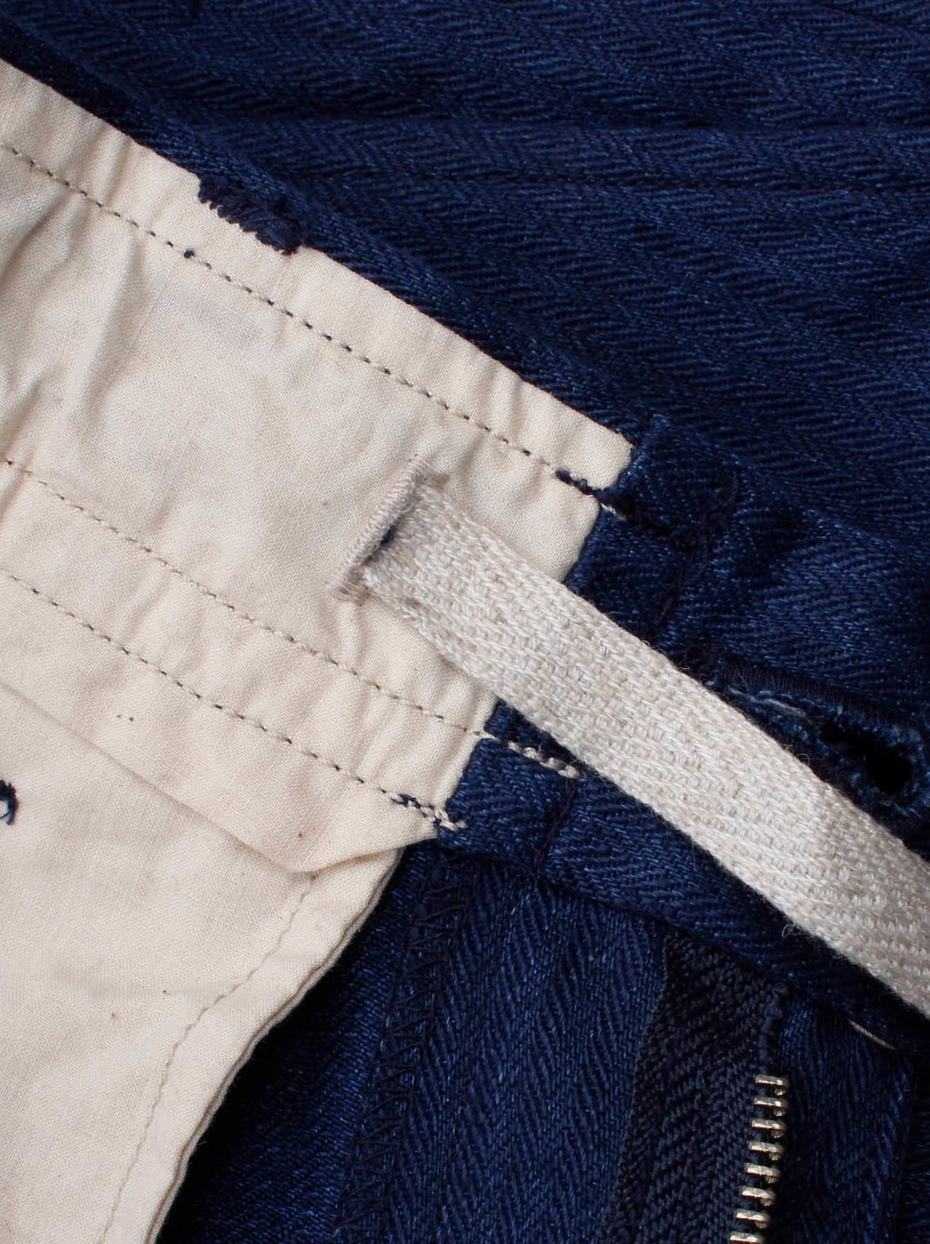 WH Indigo Linen Easy Slacks-7