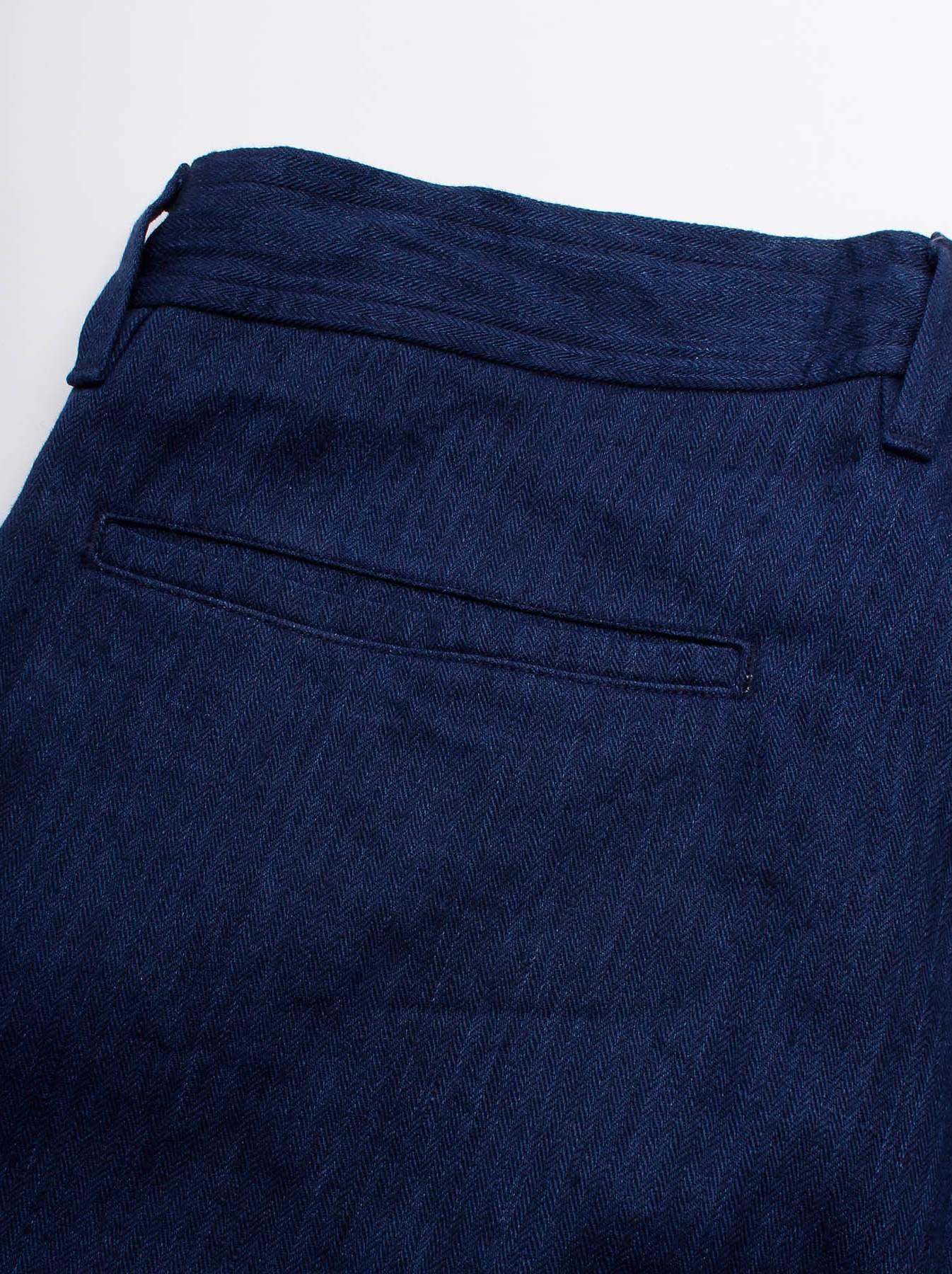 WH Indigo Linen Easy Slacks-9