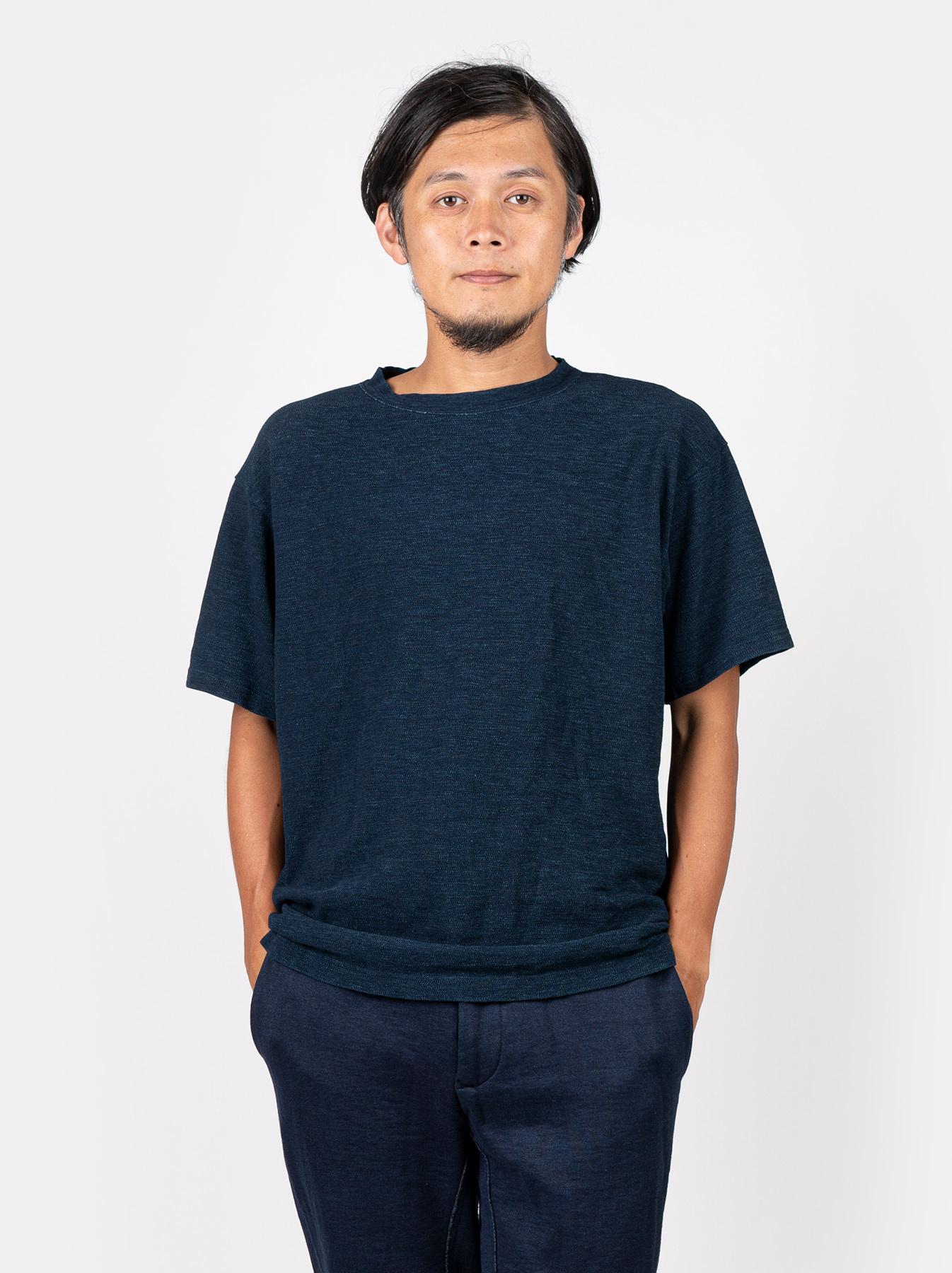 WH Indigo Ultimate Pique T-shirt-3