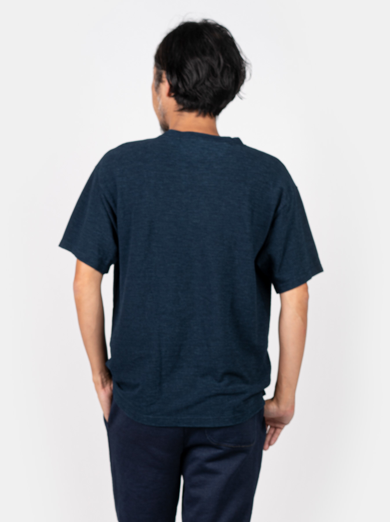 WH Indigo Ultimate Pique T-shirt-5