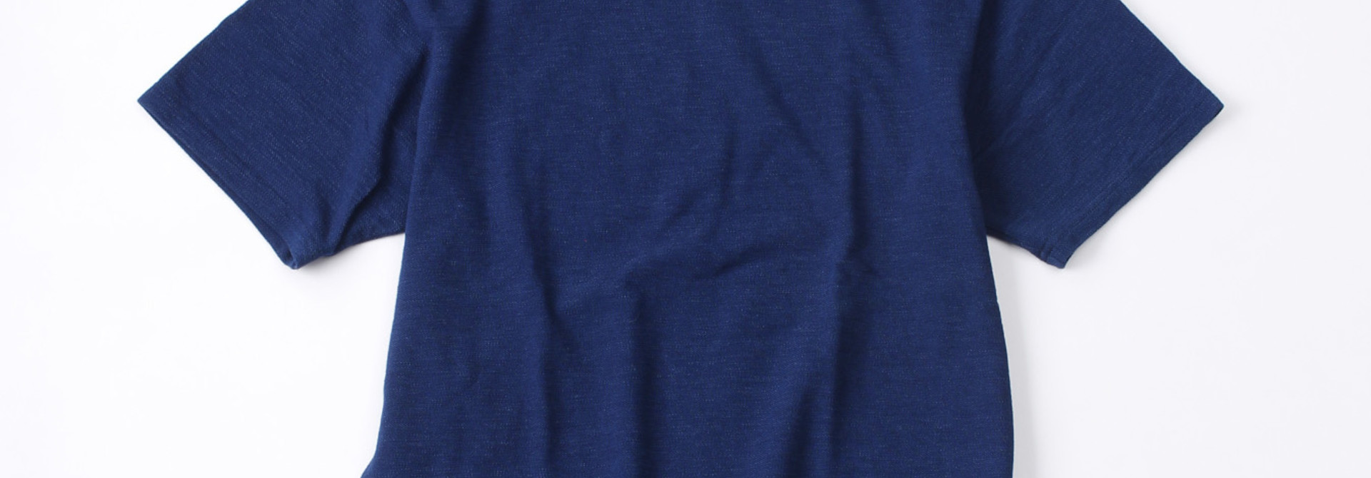 WH Indigo Ultimate Pique T-shirt Distressed