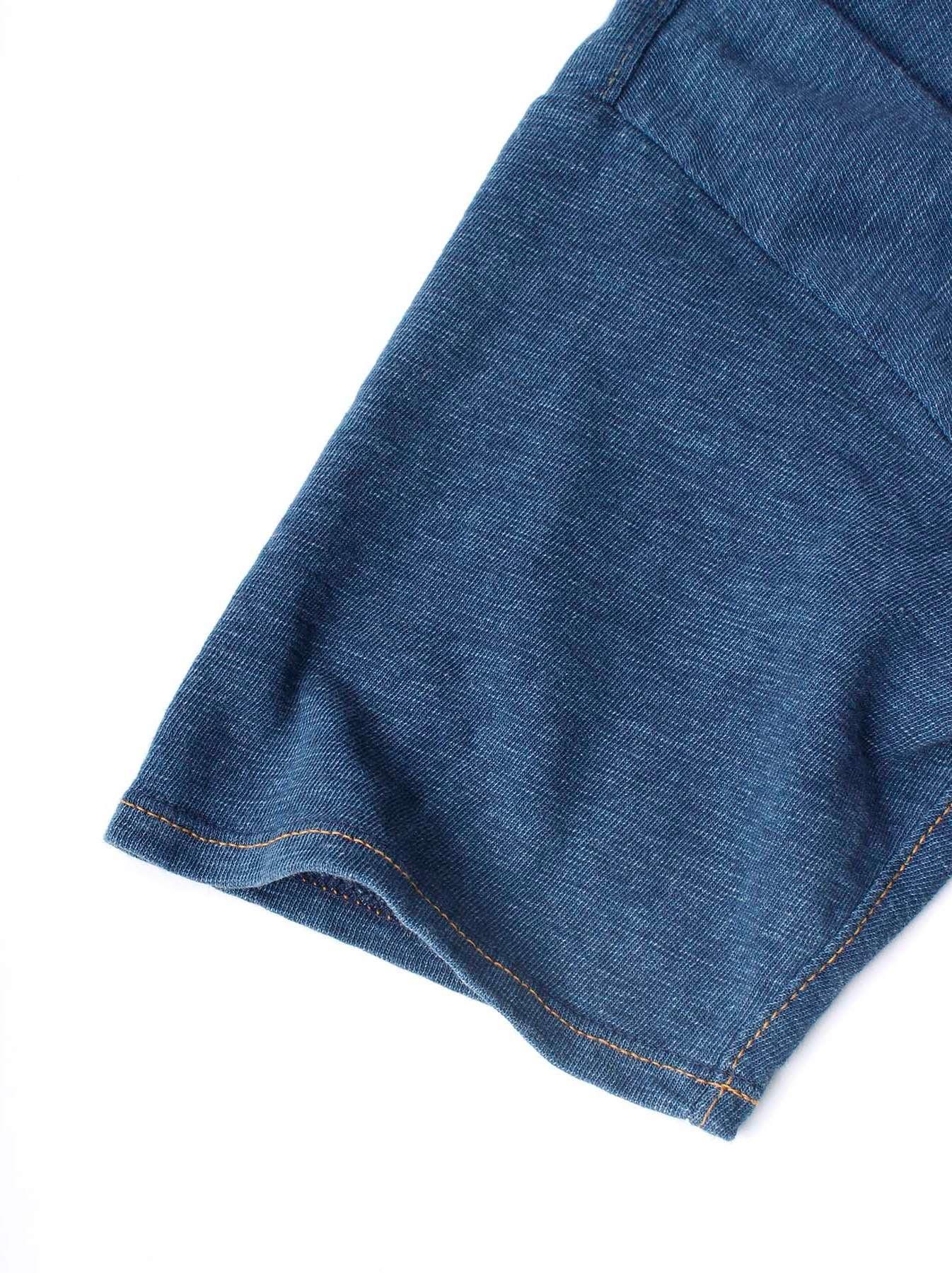 WH Indigo Plating Tenjiku T-shirt Distressed-11