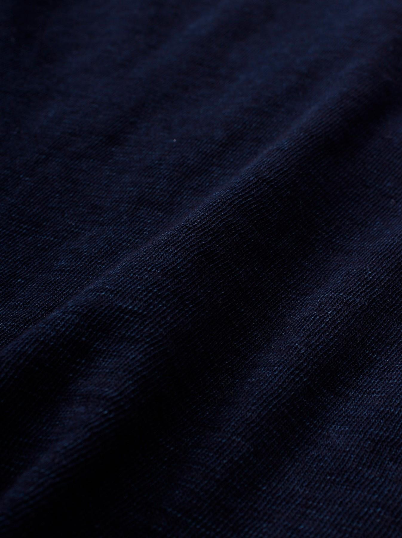 WH Indigo Plating Tenjiku Polo Shirt-10