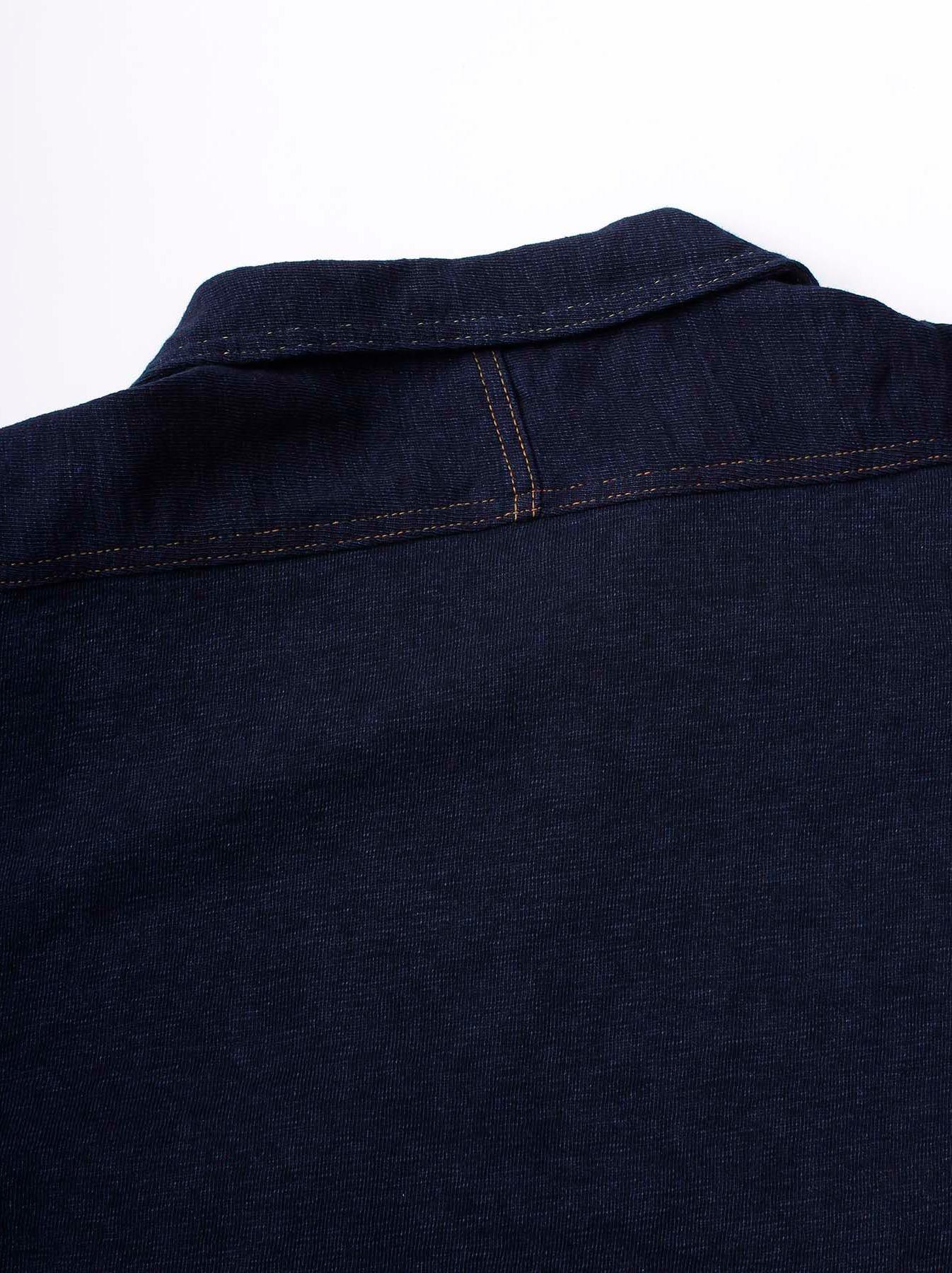 WH Indigo Plating Tenjiku Polo Shirt-8