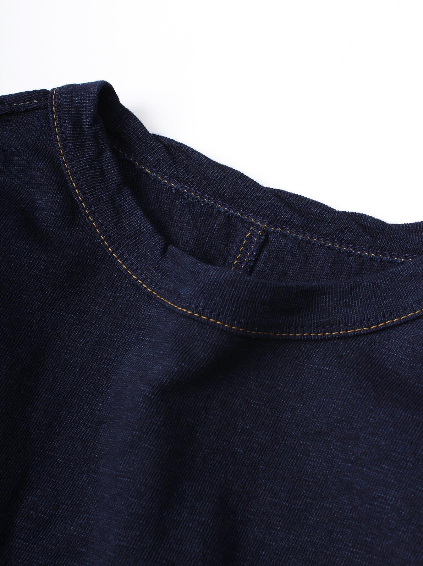 WH Indigo Plating Tenjiku T-shirt-2