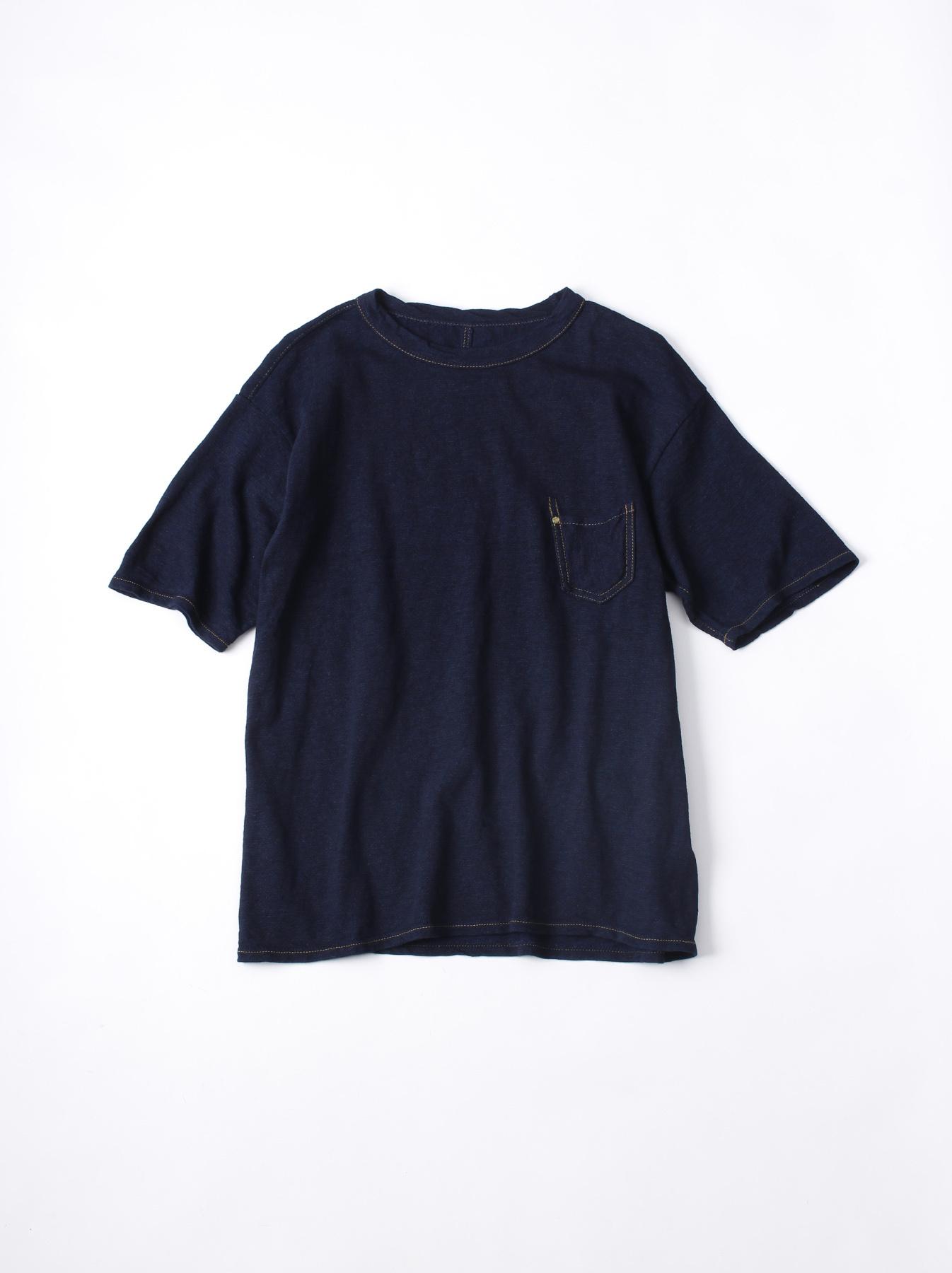 WH Indigo Plating Tenjiku T-shirt-1
