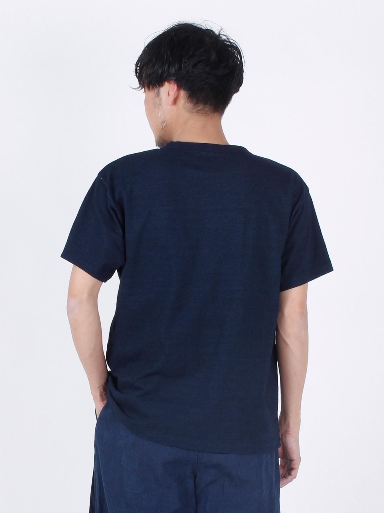 WH Indigo Applique T-shirt-5