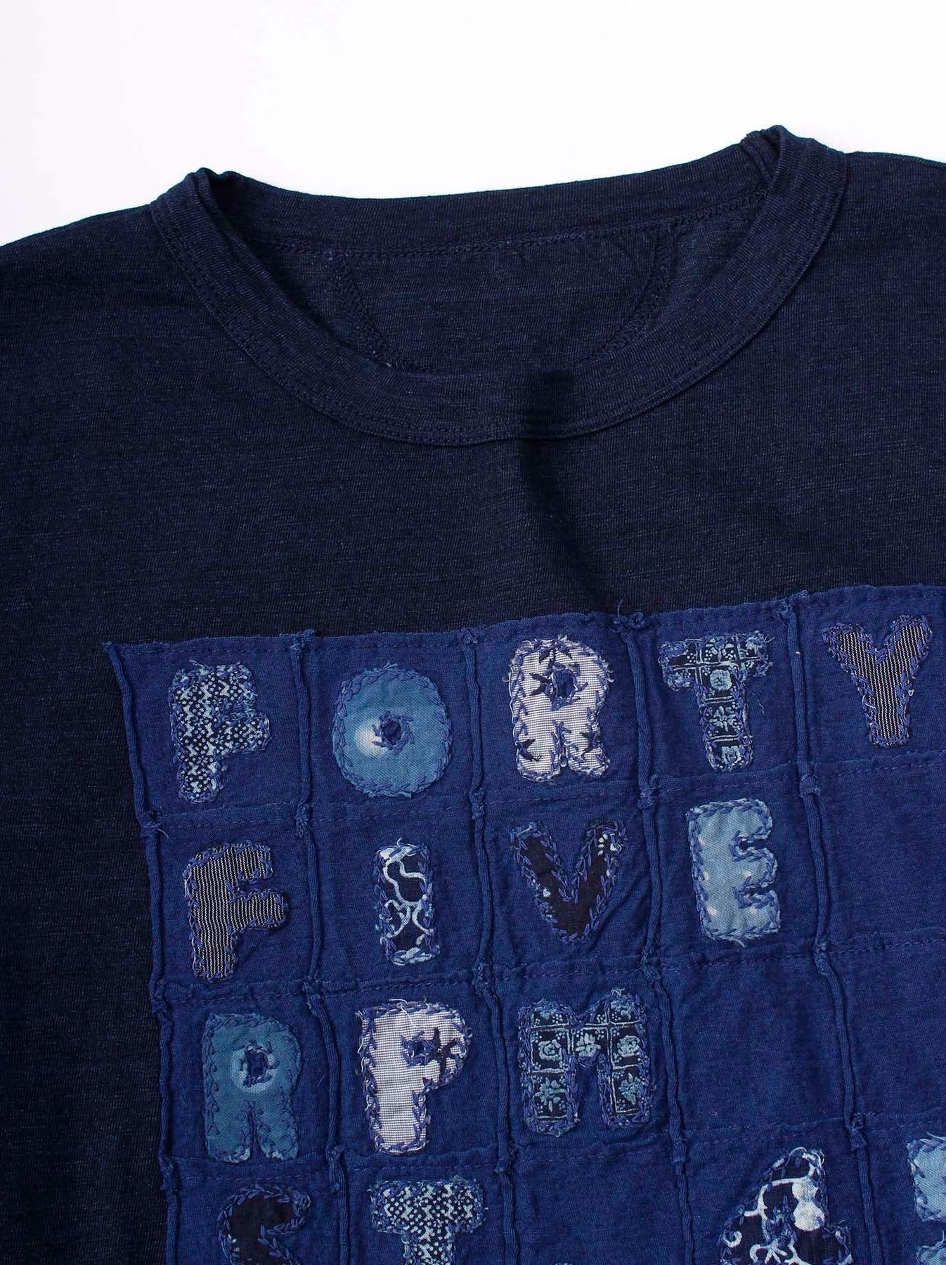 WH Indigo Applique T-shirt-6