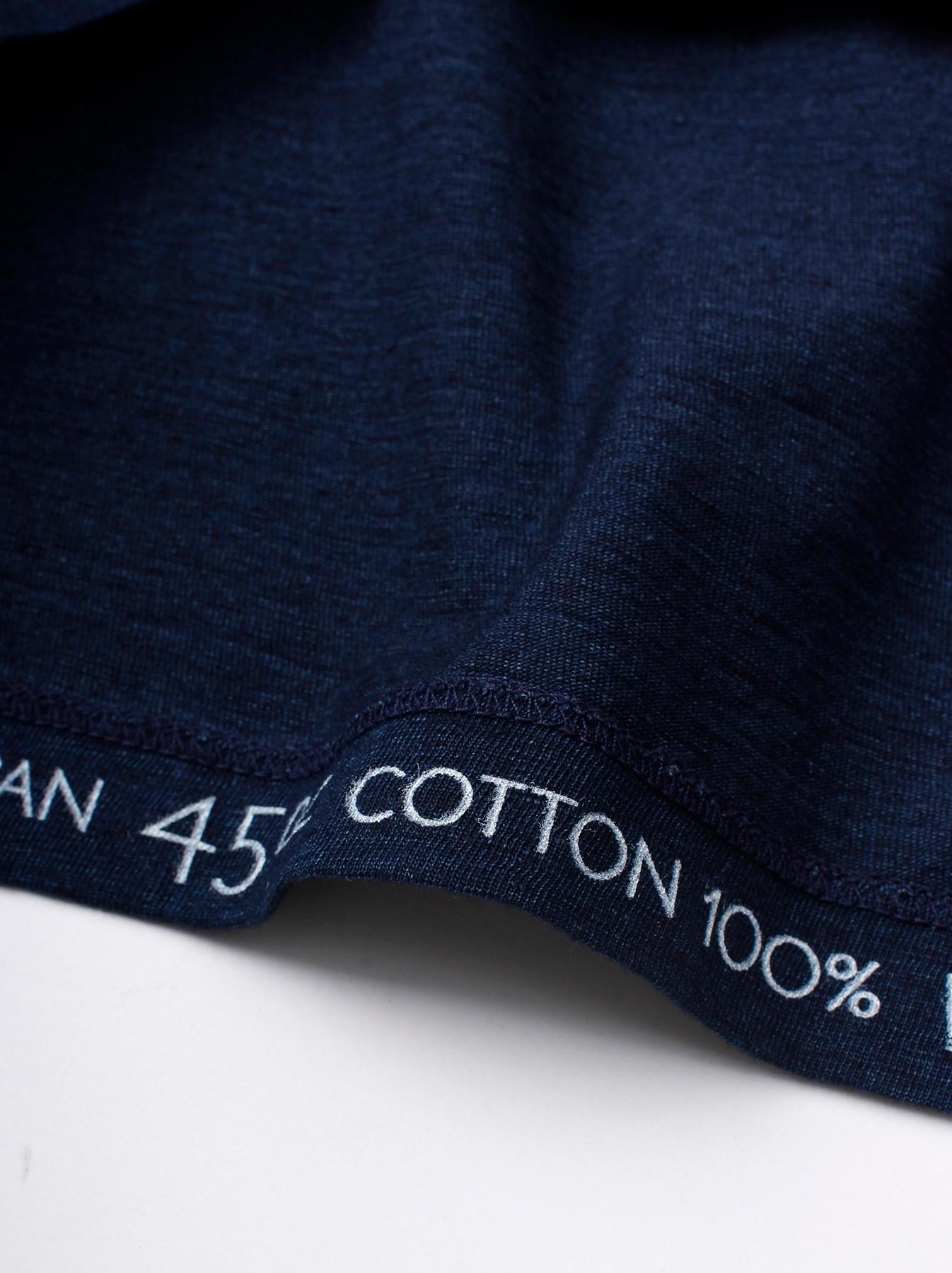 WH Indigo Applique T-shirt-9