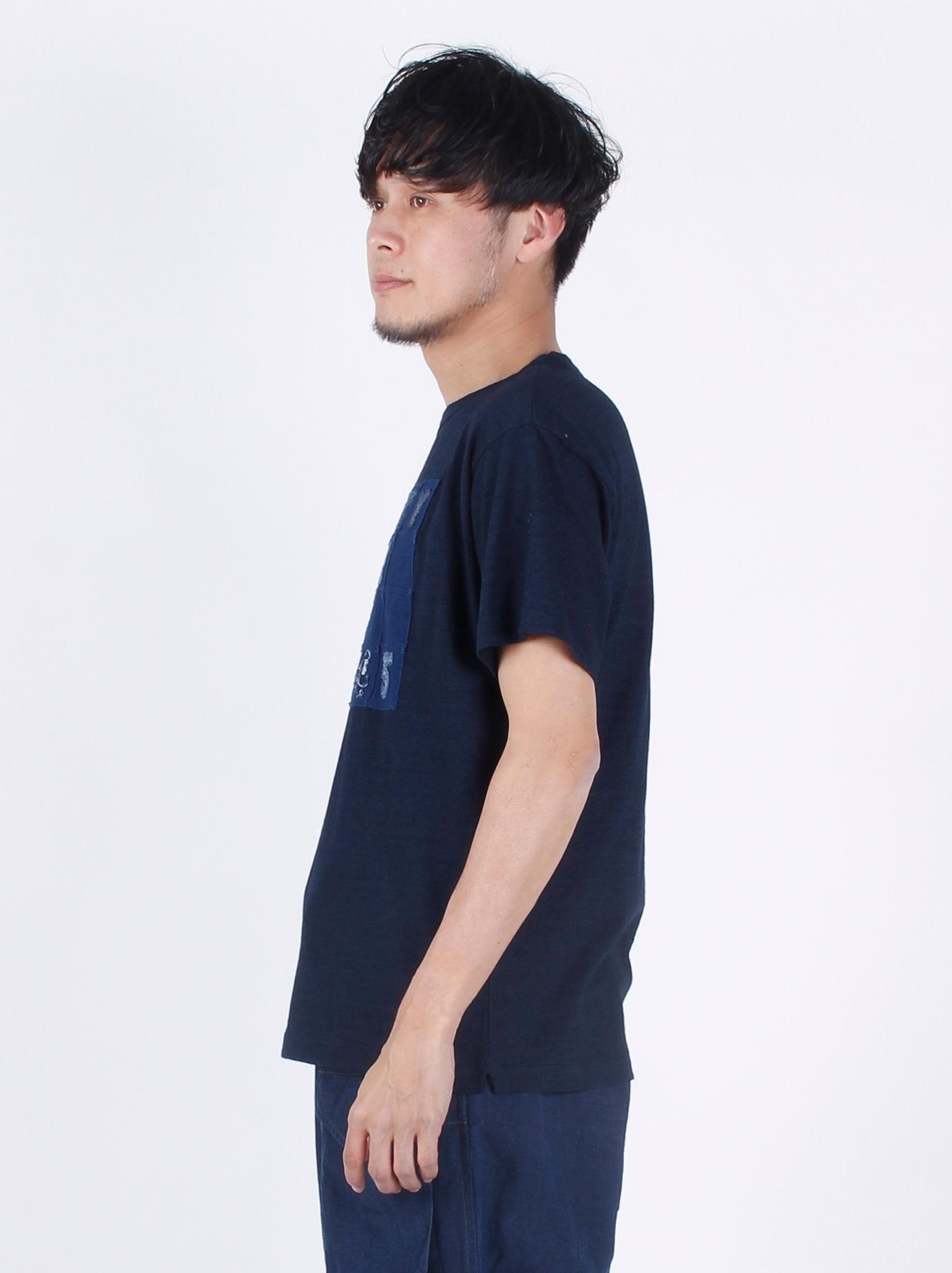 WH Indigo Applique T-shirt-4