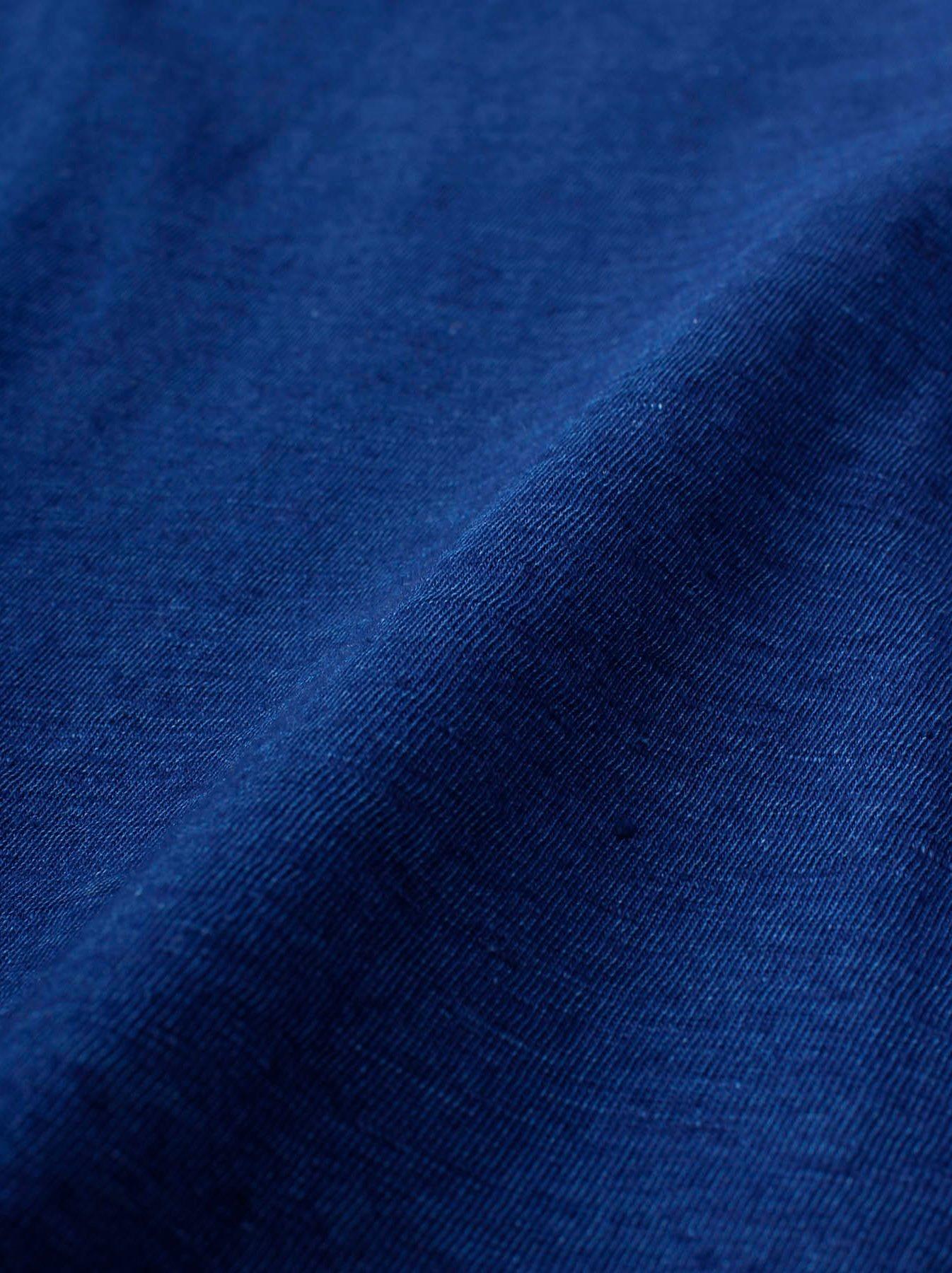 WH Indigo R Emblem T-shirt-10