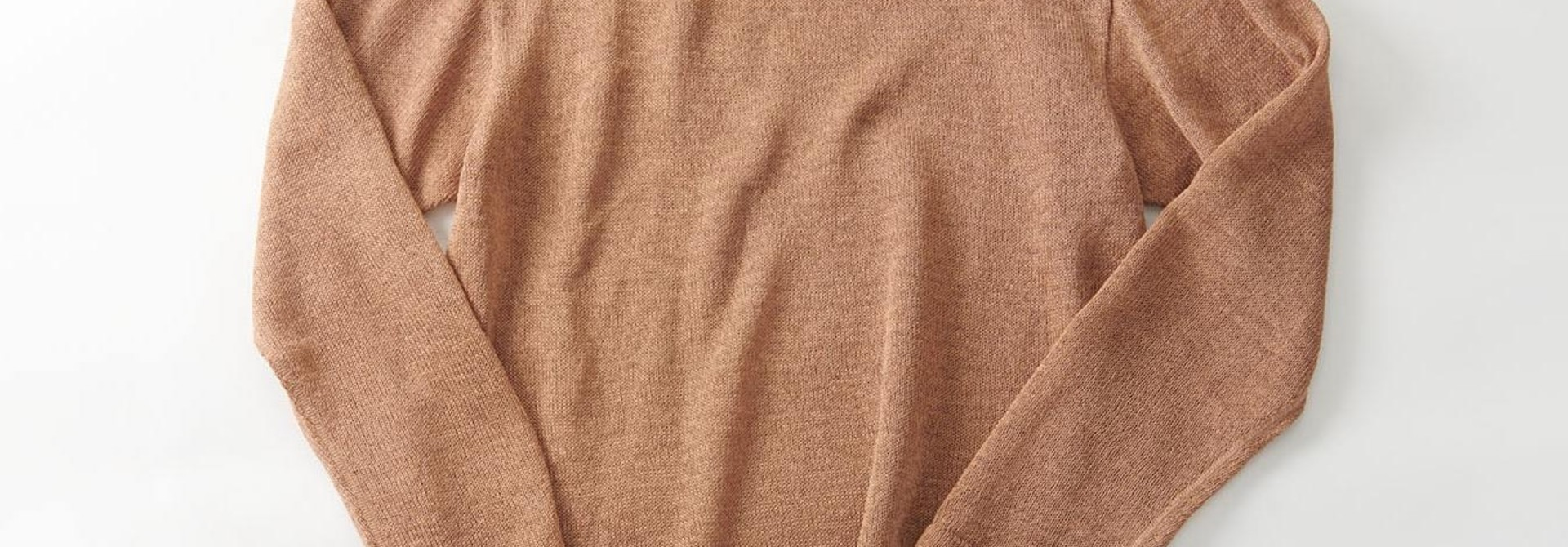 WH Gima Knit Long-sleeved T-shirt