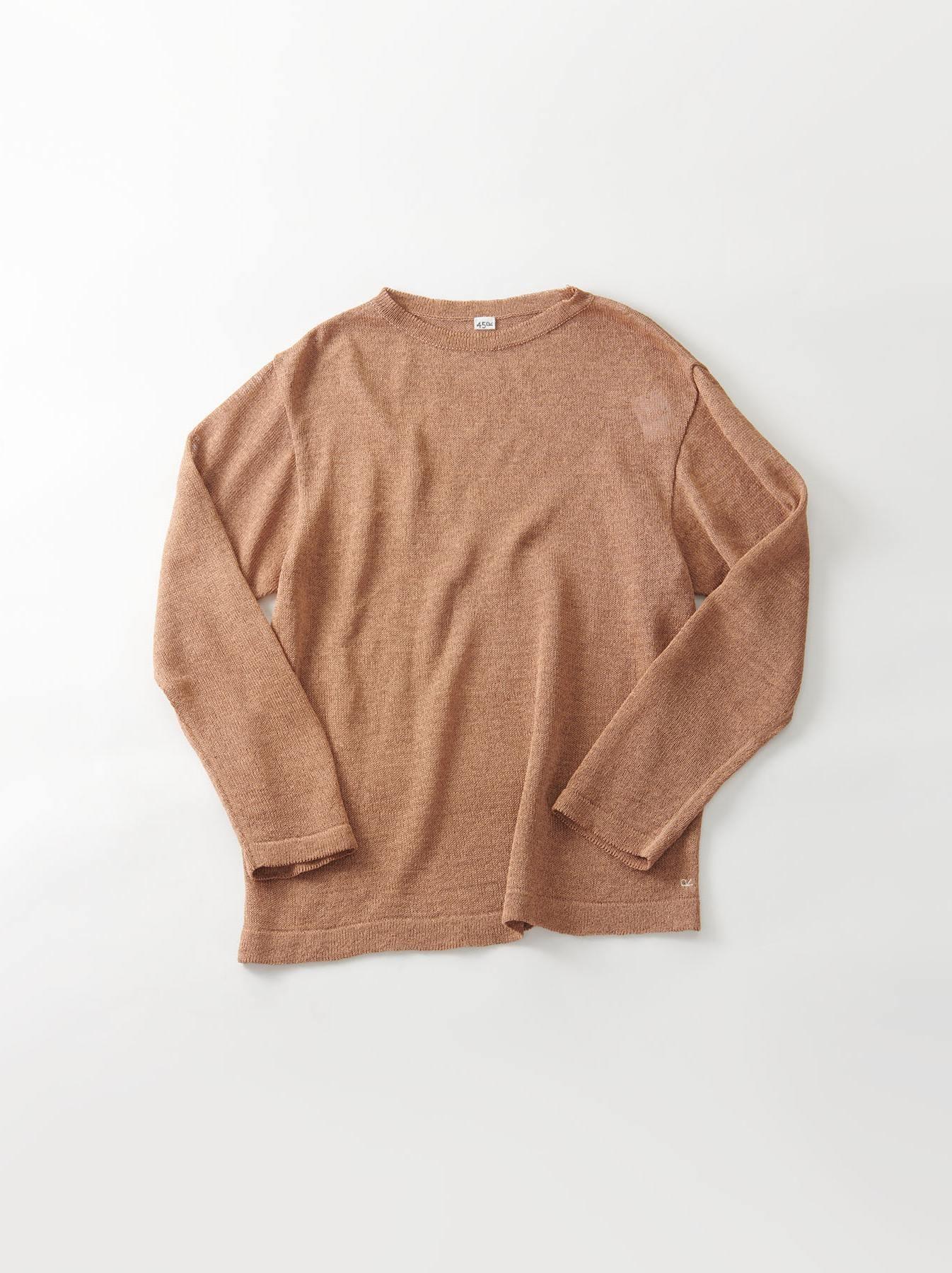 WH Gima Knit Long-sleeved T-shirt-1