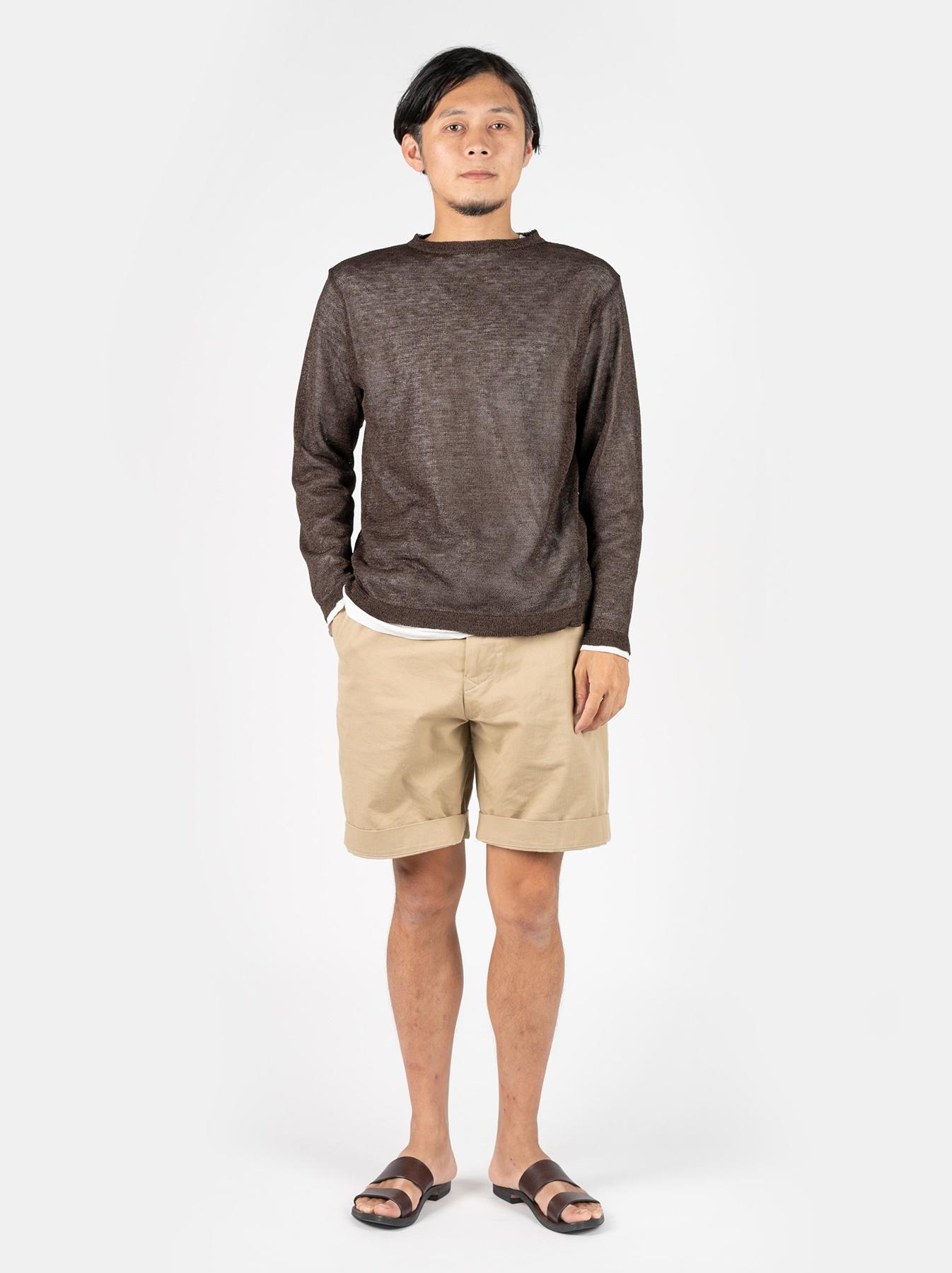 WH Gima Knit Long-sleeved T-shirt-2