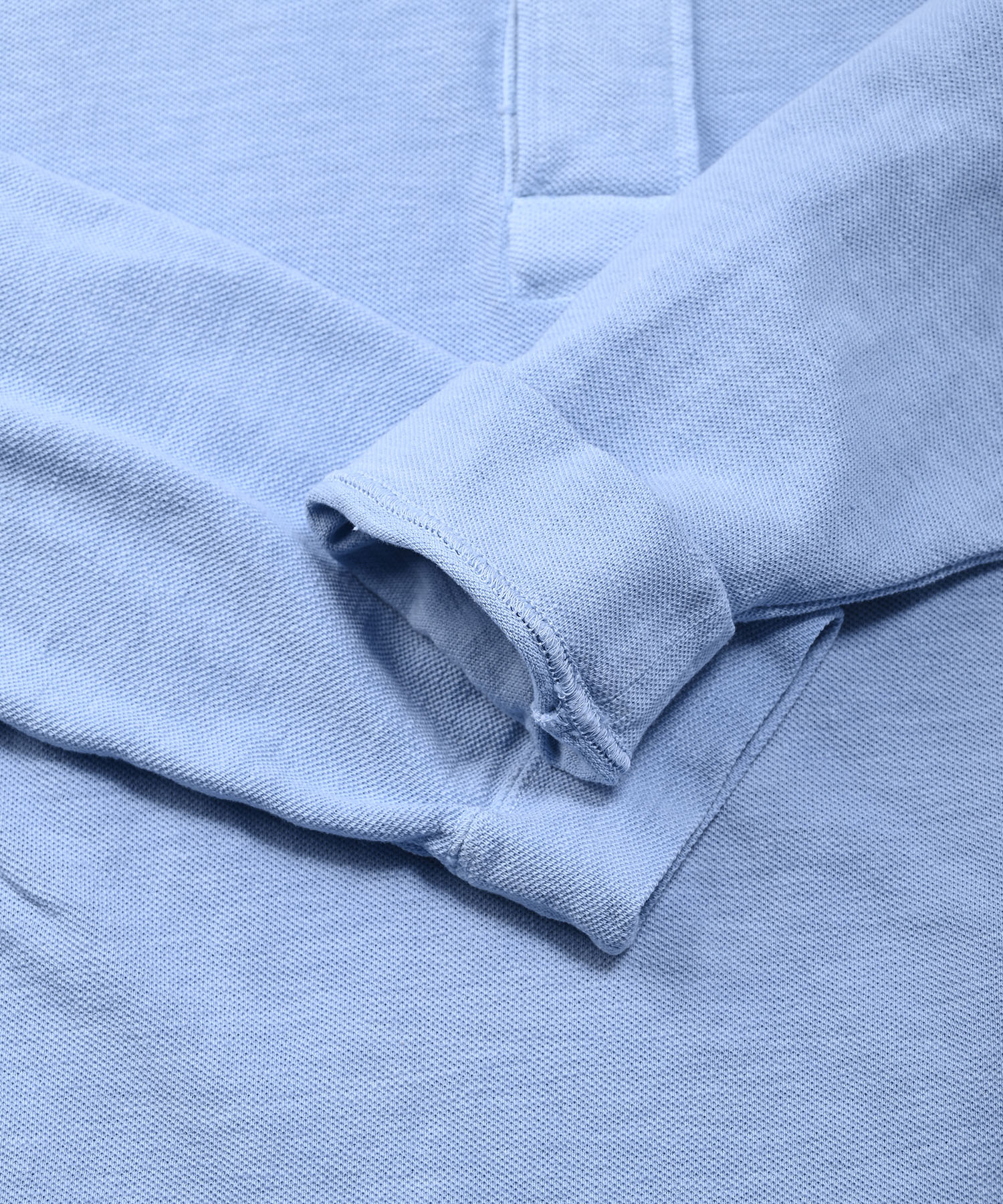 Kanoko Ocean Shiokaze Long-sleeved Polo Shirt (0421)-9