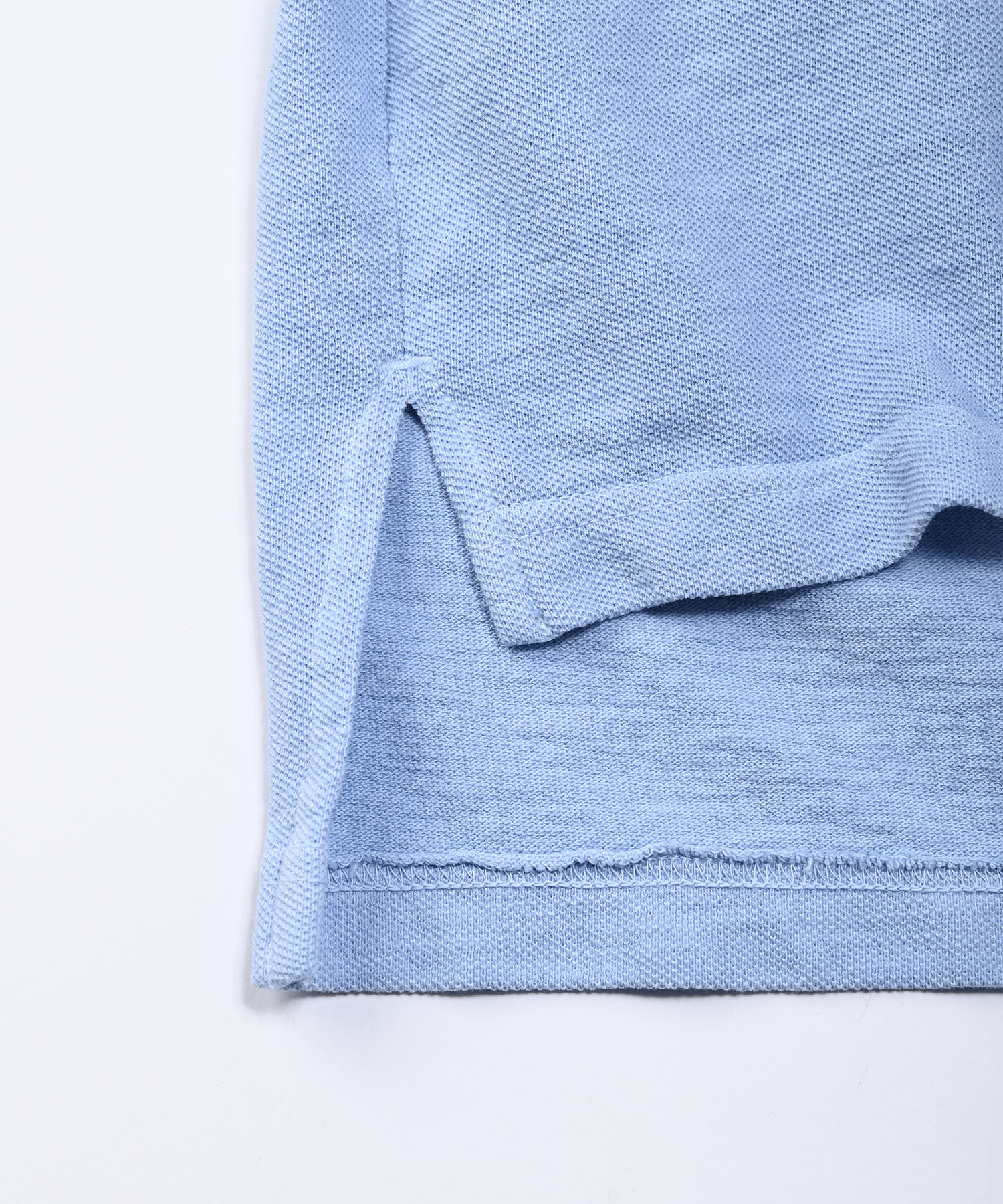 Kanoko Ocean Shiokaze Long-sleeved Polo Shirt (0421)-10