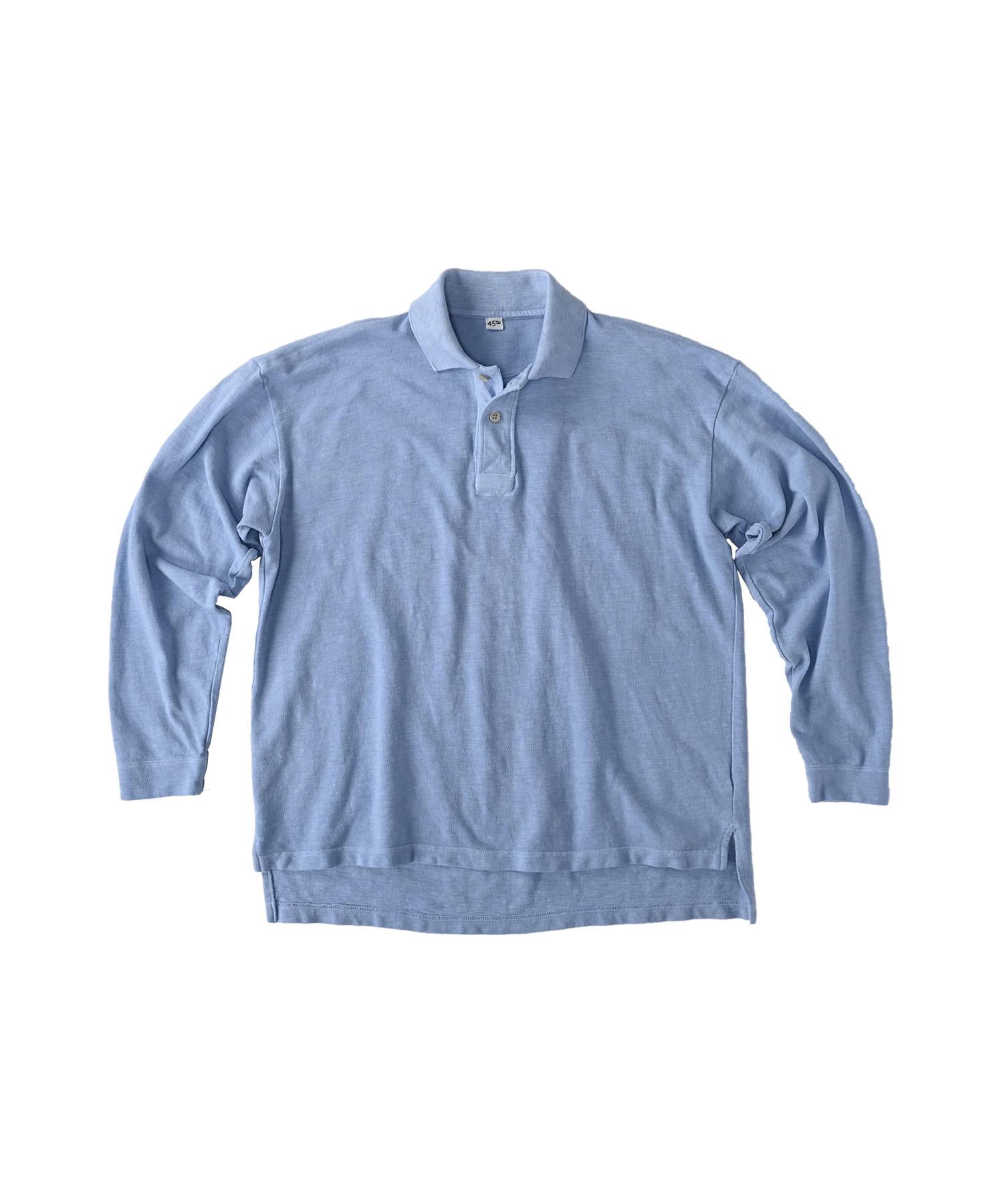 Kanoko Ocean Shiokaze Long-sleeved Polo Shirt (0421)-8