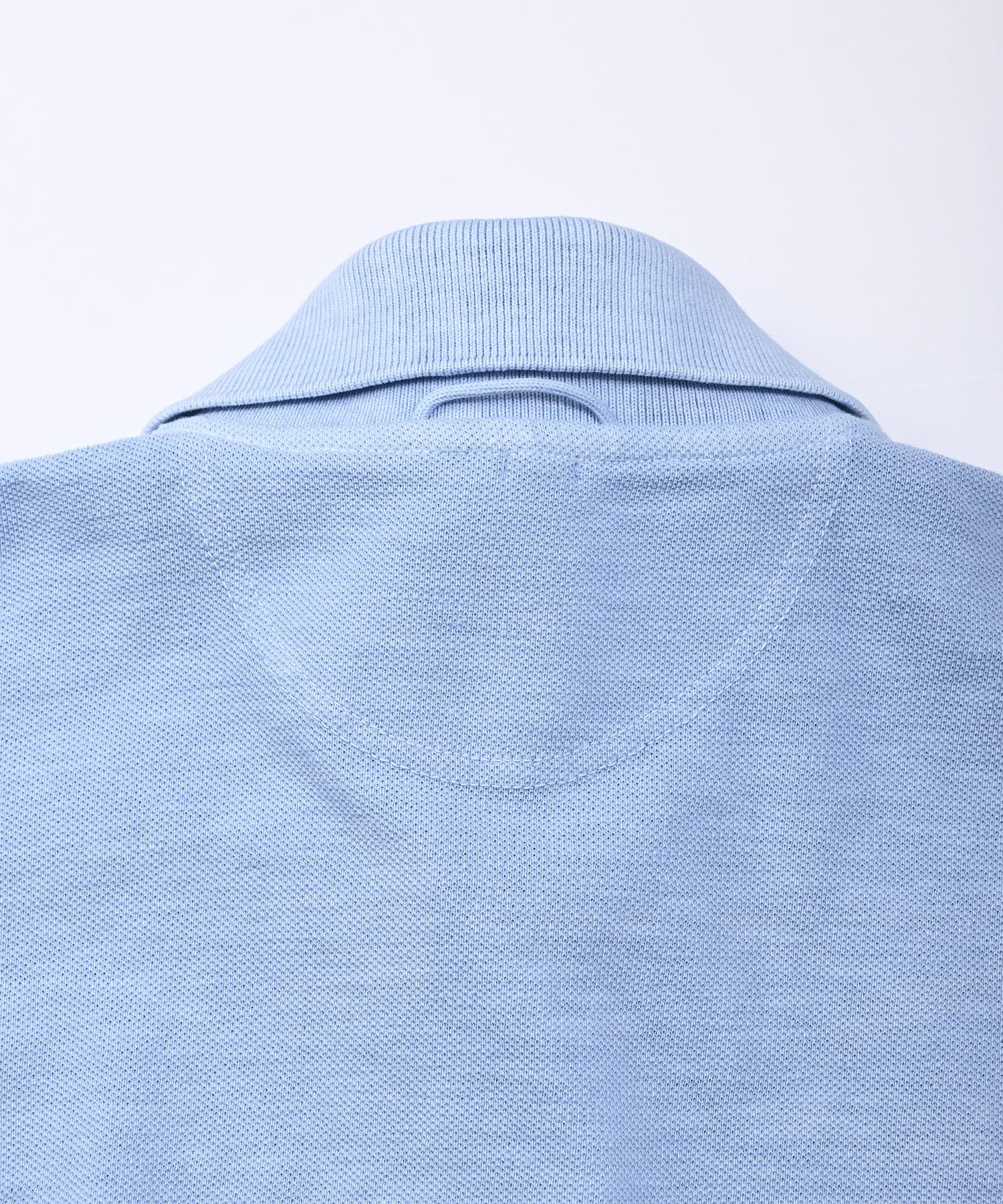 Kanoko Ocean Shiokaze Long-sleeved Polo Shirt (0421)-11
