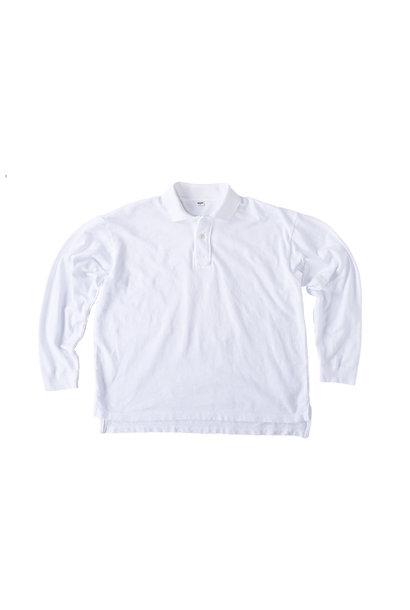 Kanoko Ocean Shiokaze Long-sleeved Polo Shirt (0421)