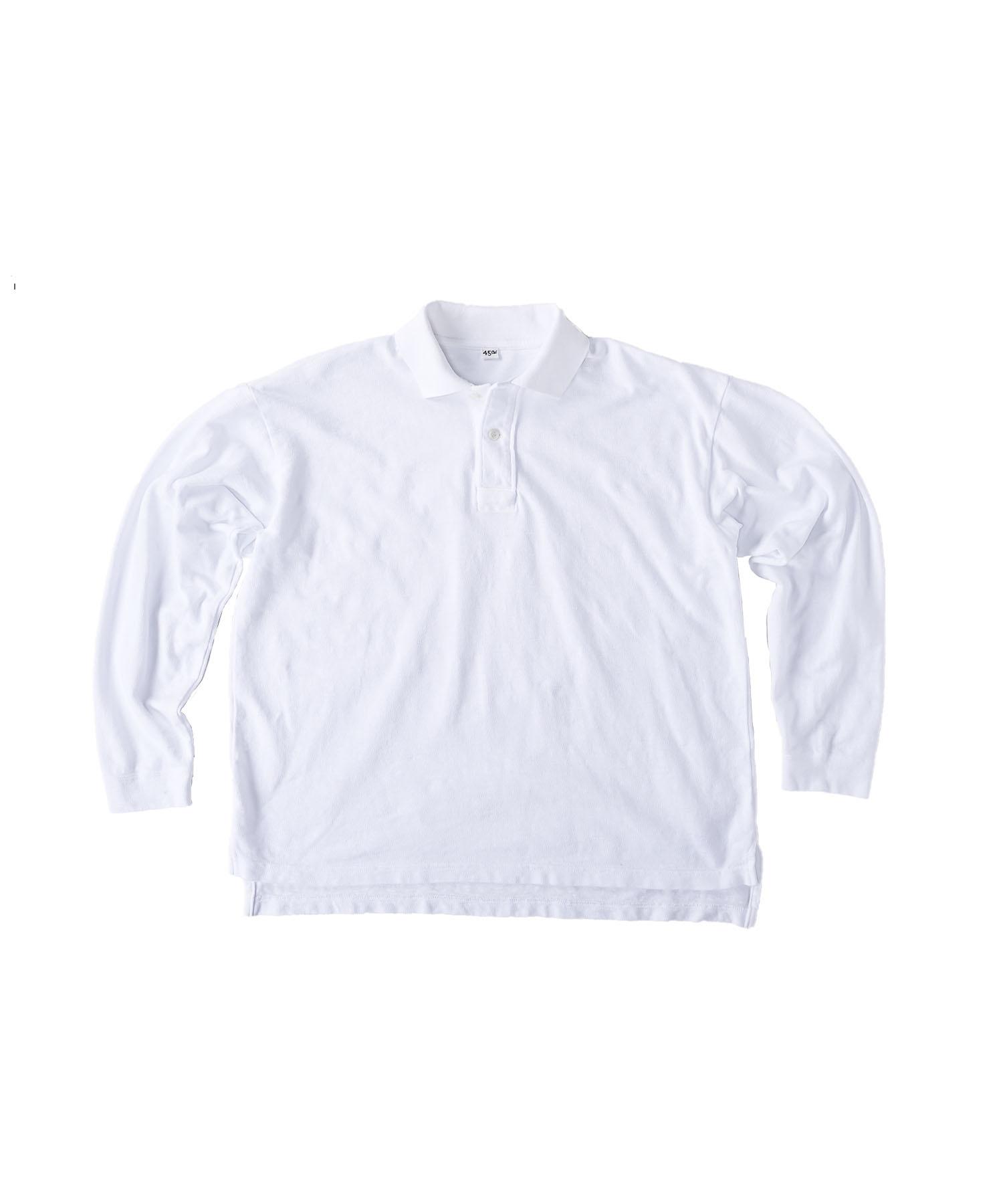 Kanoko Ocean Shiokaze Long-sleeved Polo Shirt (0421)-1