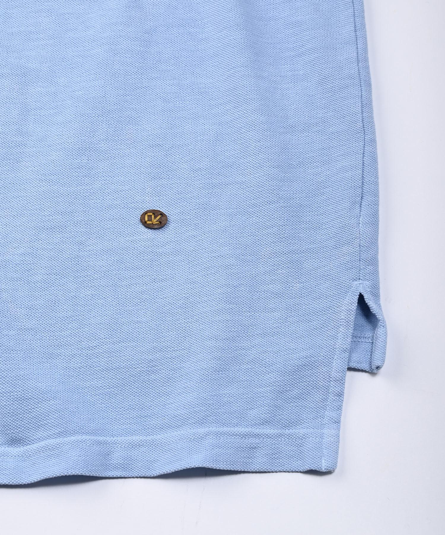 Kanoko Ocean Shiokaze Long-sleeved Polo Shirt (0421)-12