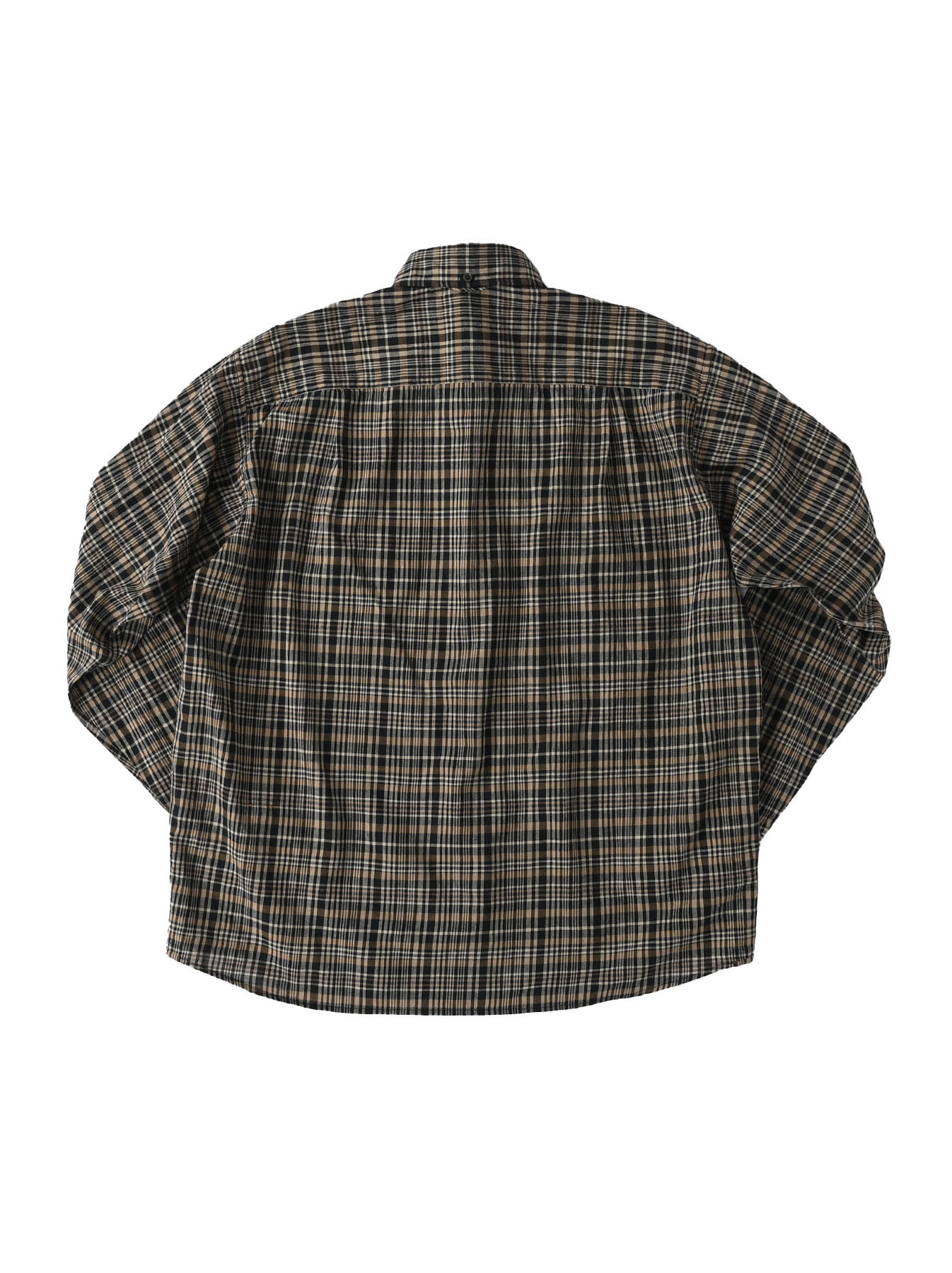 Indian Mugi-hira 908 Ocean Button Down Shirt (0421)-7