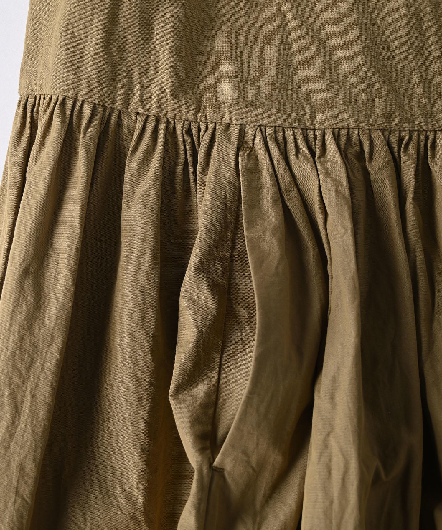 Damp Yarn Dyed Musou Dress (0421)-9