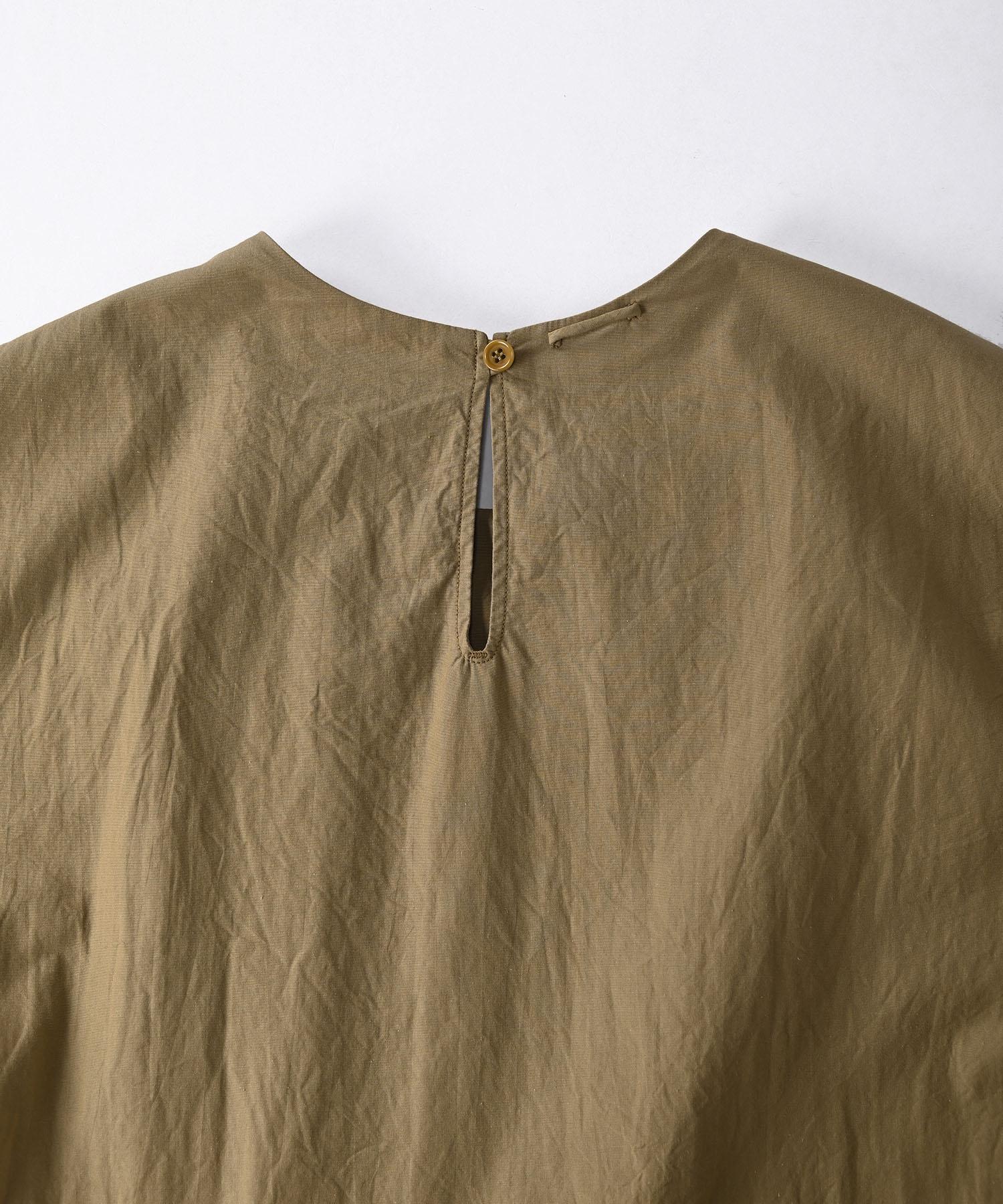 Damp Yarn Dyed Musou Dress (0421)-8