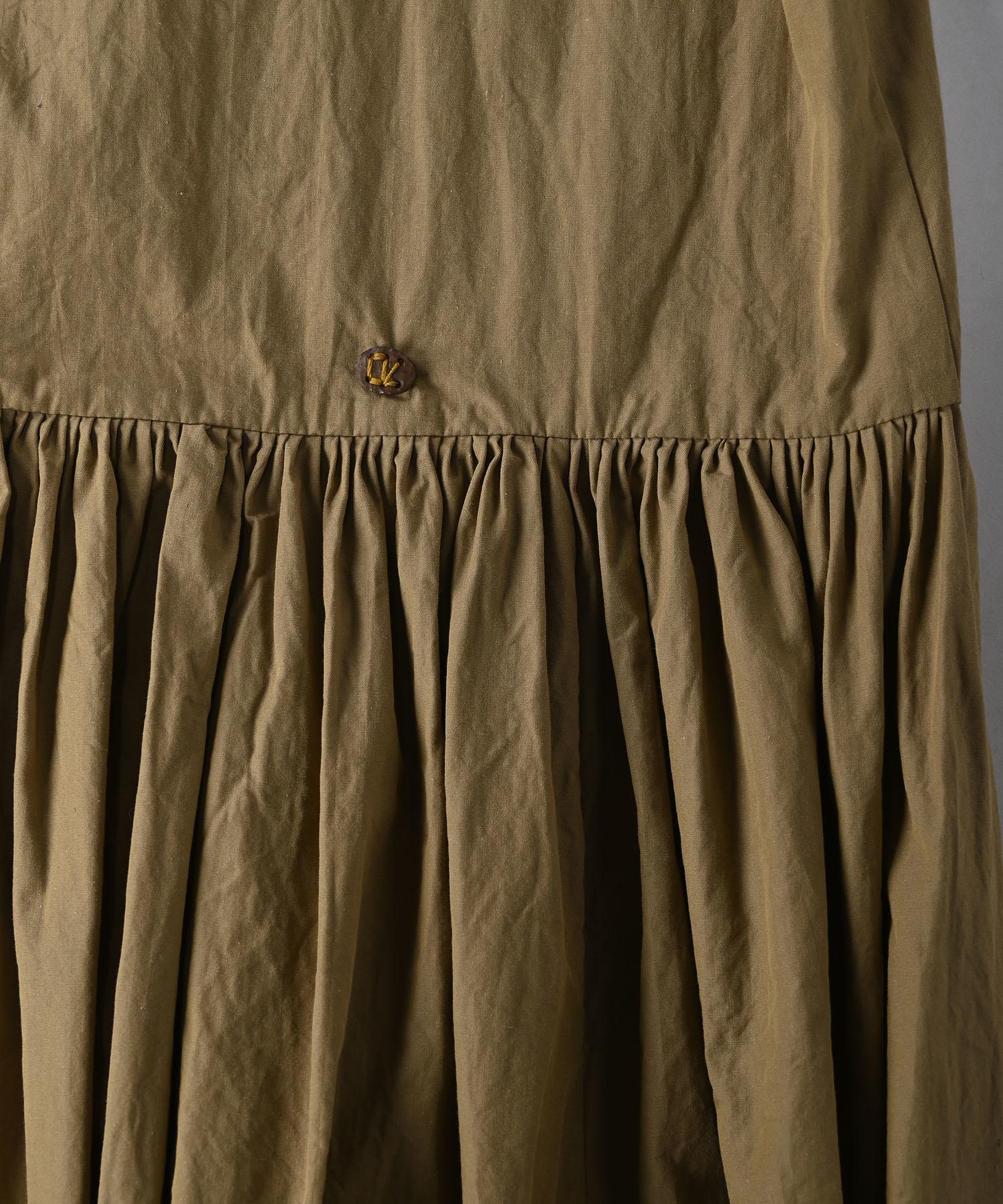 Damp Yarn Dyed Musou Dress (0421)-11