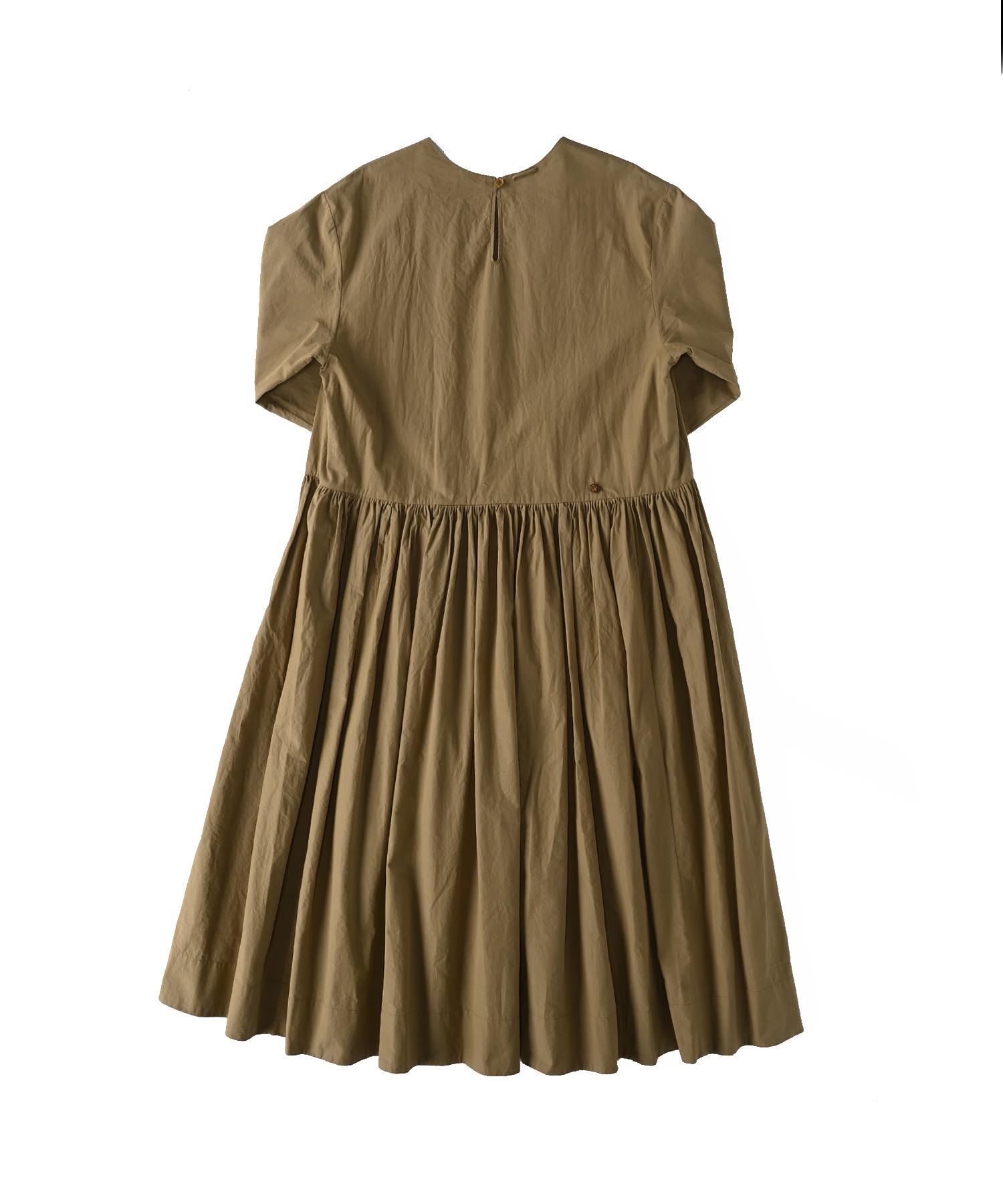 Damp Yarn Dyed Musou Dress (0421)-6