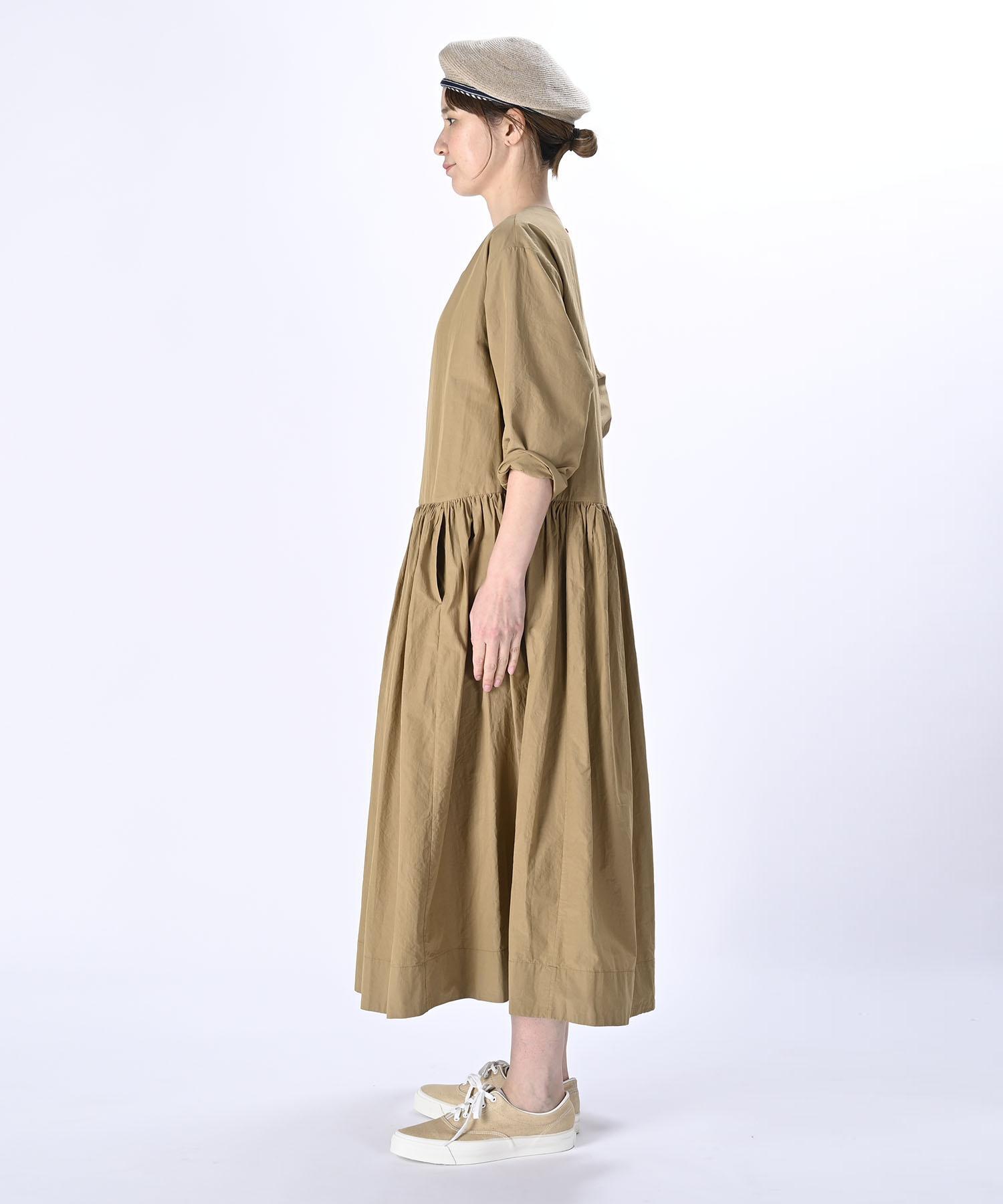 Damp Yarn Dyed Musou Dress (0421)-4