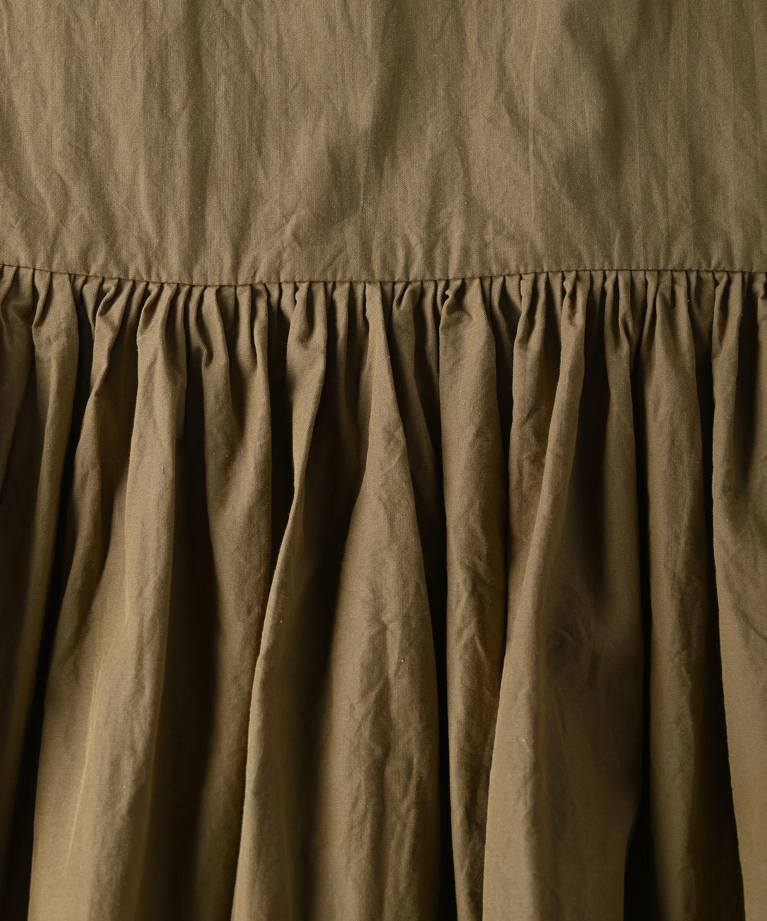 Damp Yarn Dyed Musou Dress (0421)-12