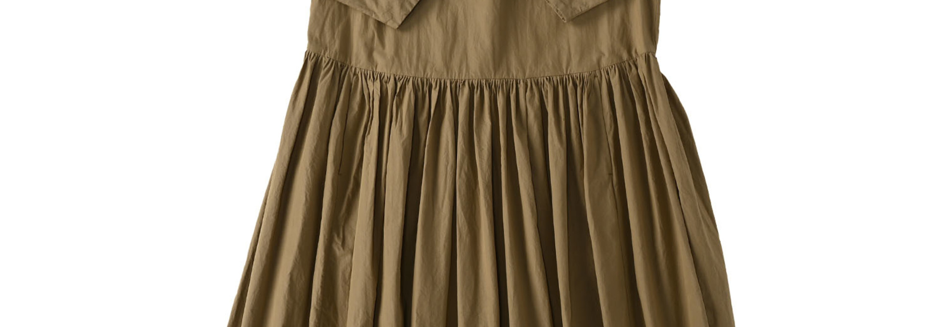 Damp Yarn Dyed Musou Dress (0421)