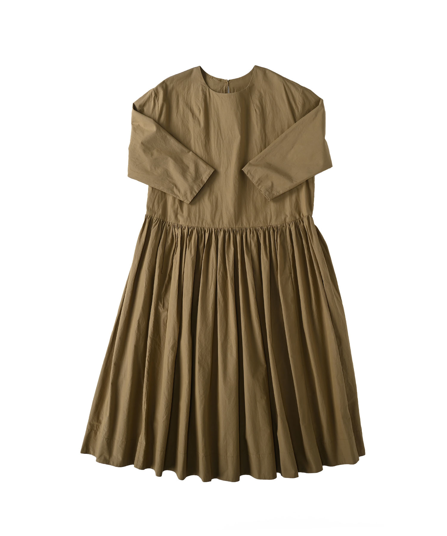 Damp Yarn Dyed Musou Dress (0421)-1