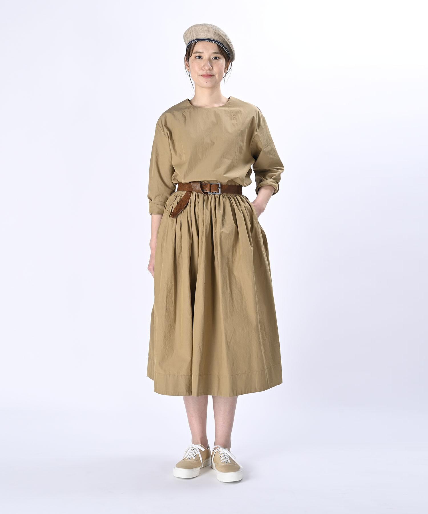 Damp Yarn Dyed Musou Dress (0421)-2
