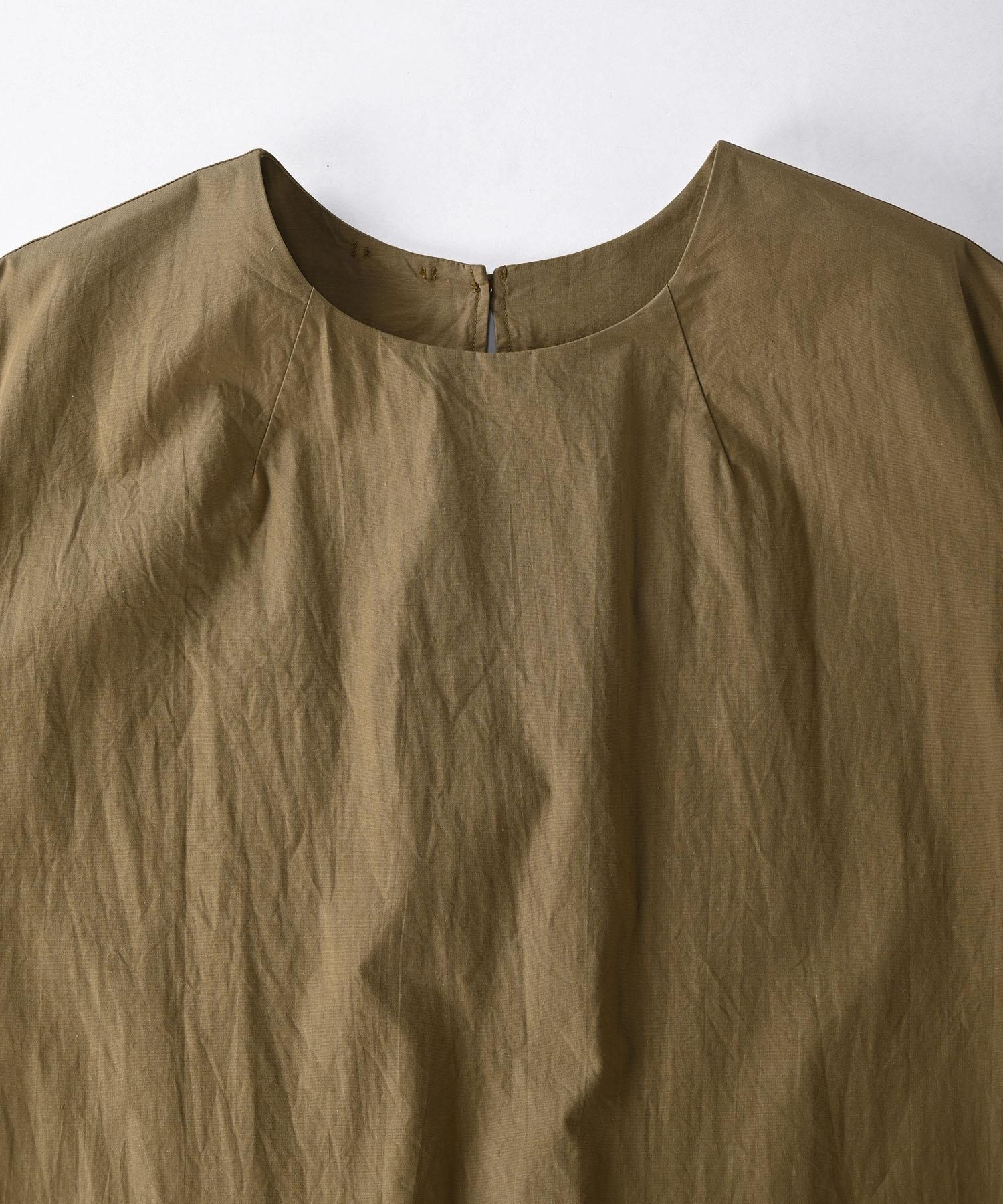 Damp Yarn Dyed Musou Dress (0421)-7