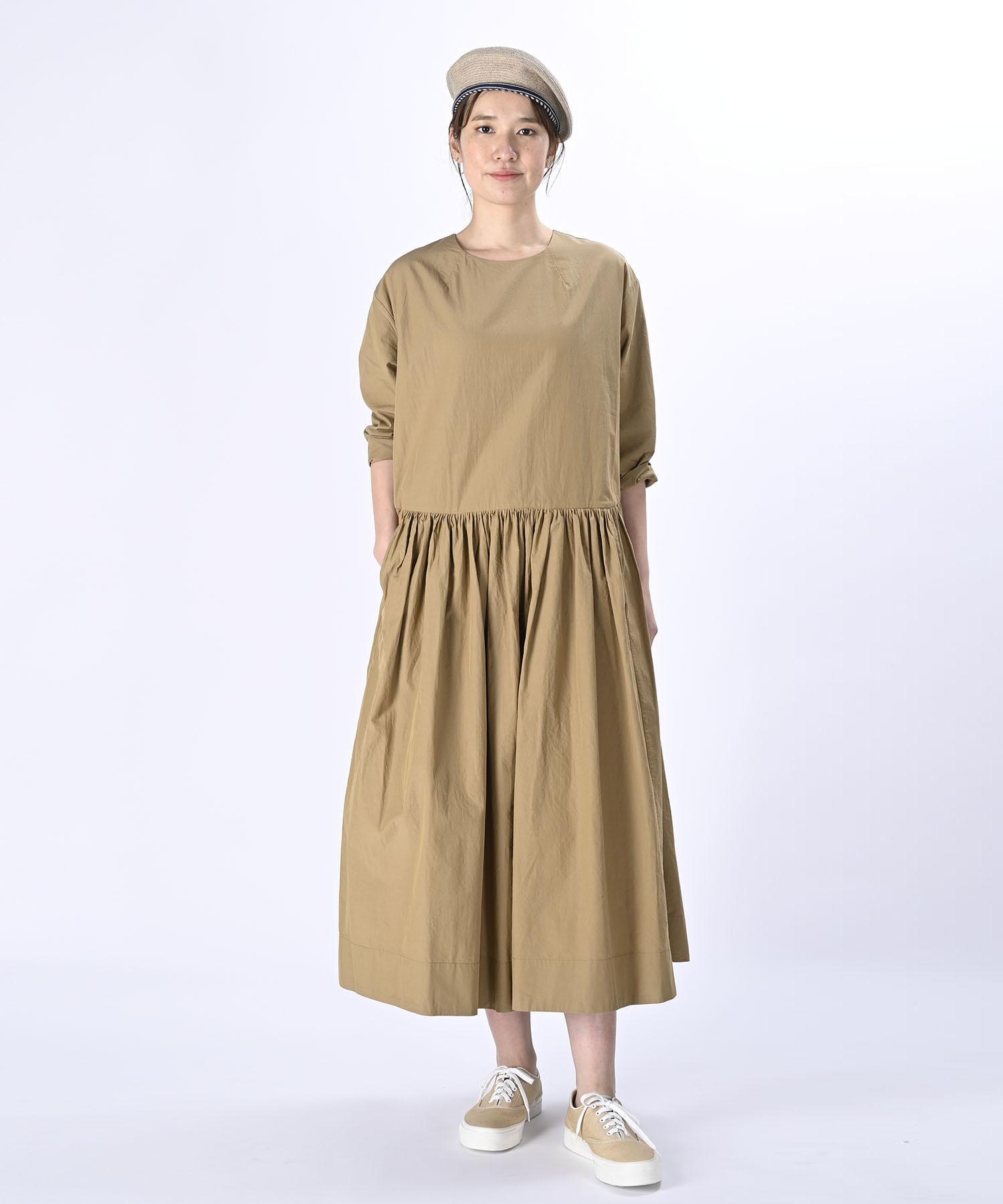 Damp Yarn Dyed Musou Dress (0421)-3