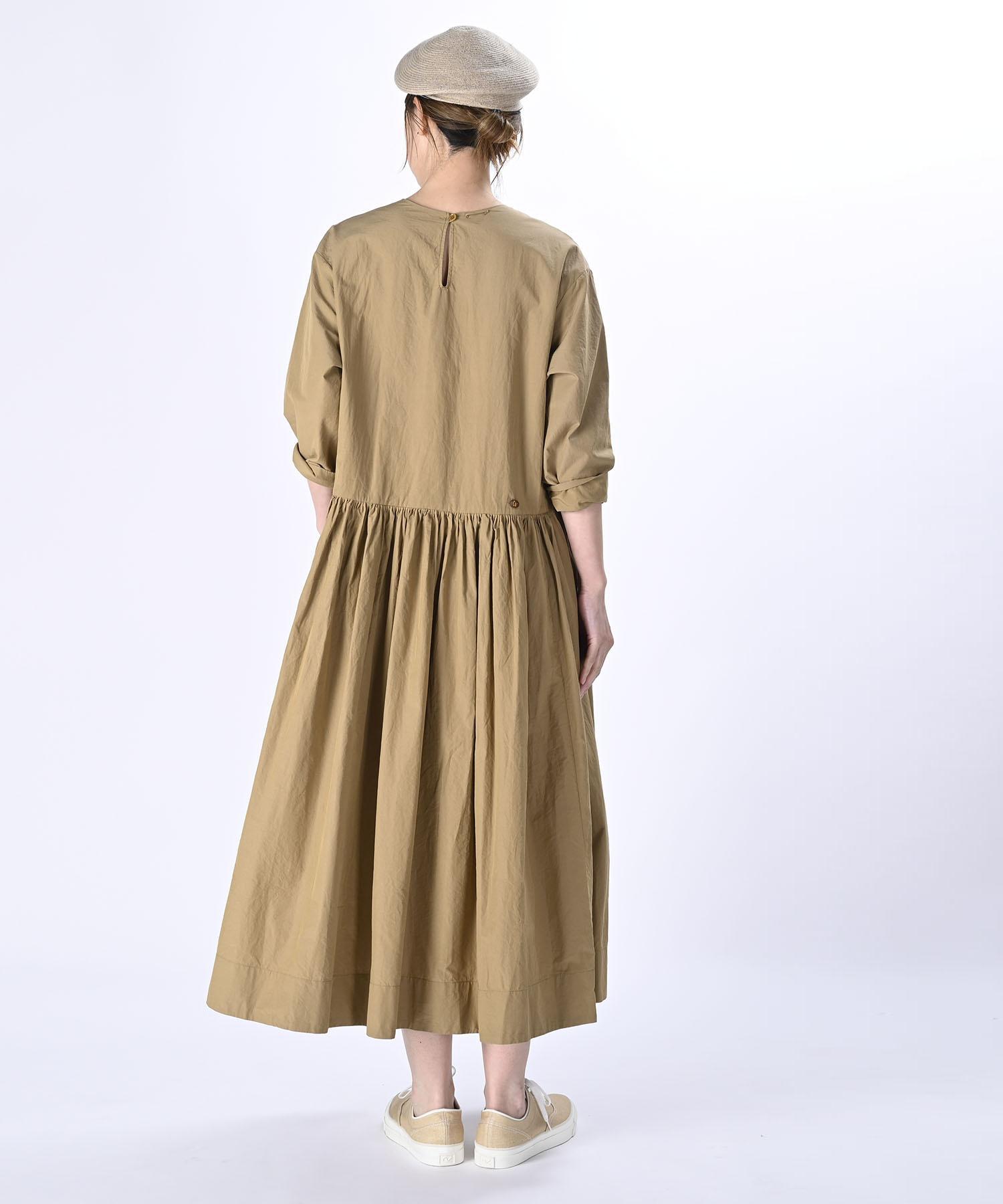 Damp Yarn Dyed Musou Dress (0421)-5