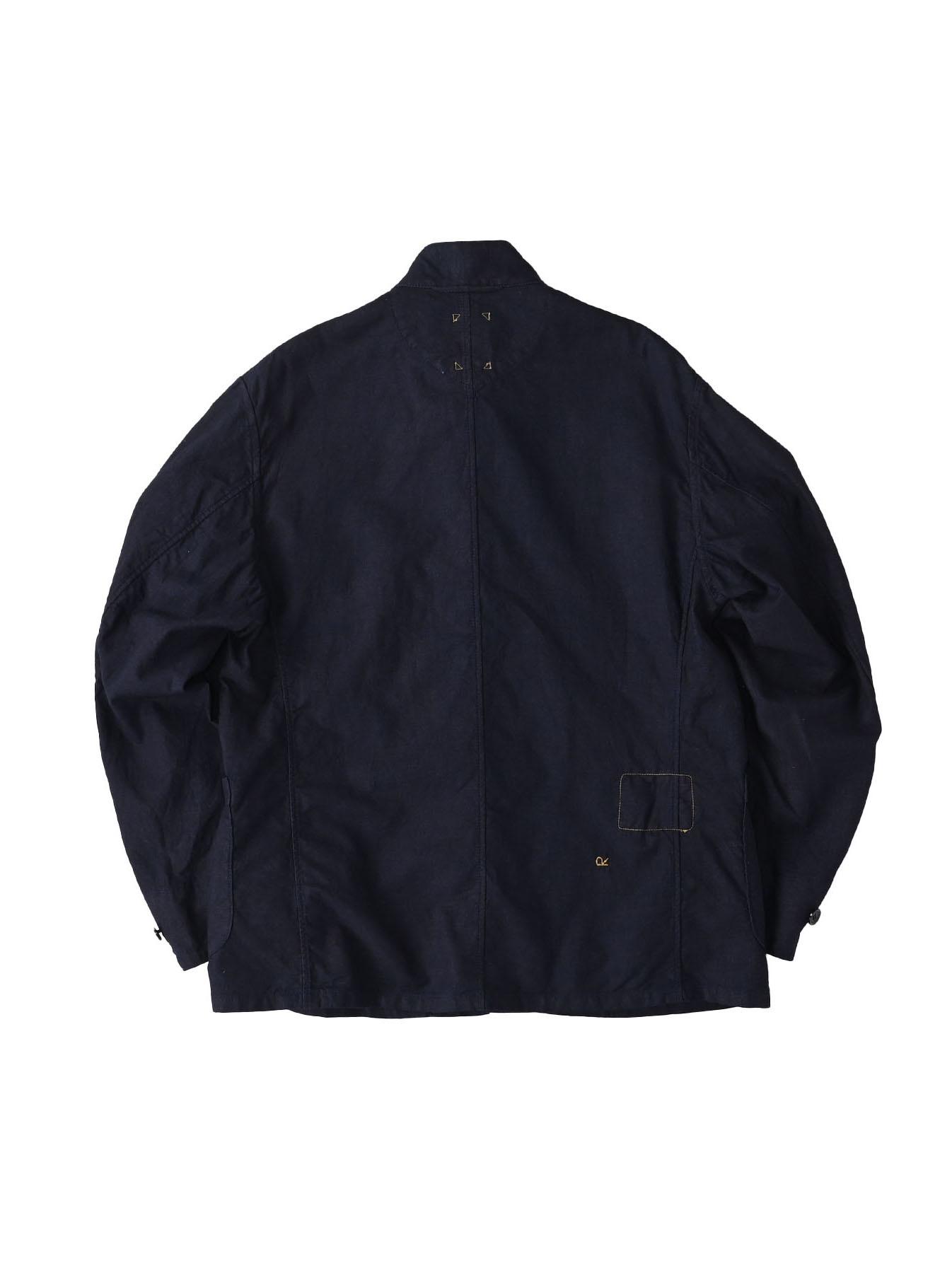 Indigo Double Woven 908 Shirt Jacket (0421)-6