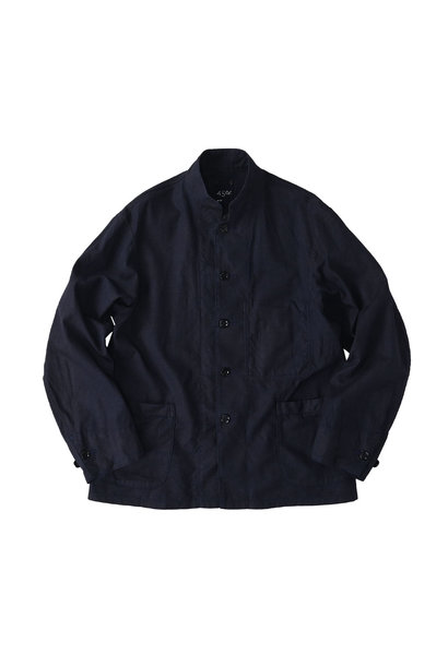 Indigo Double Woven 908 Shirt Jacket (0421)