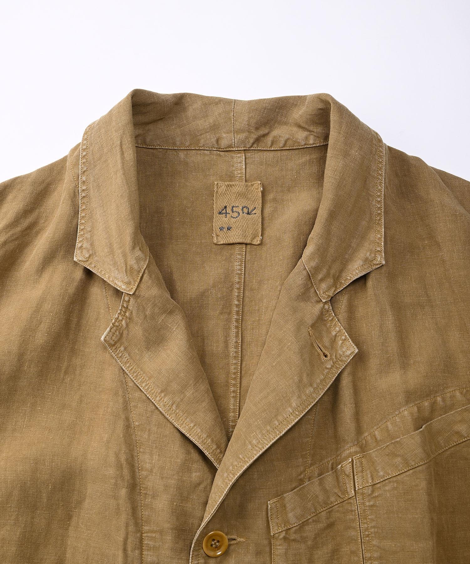 Linen Post Dyed 908 Coat (0421)-6